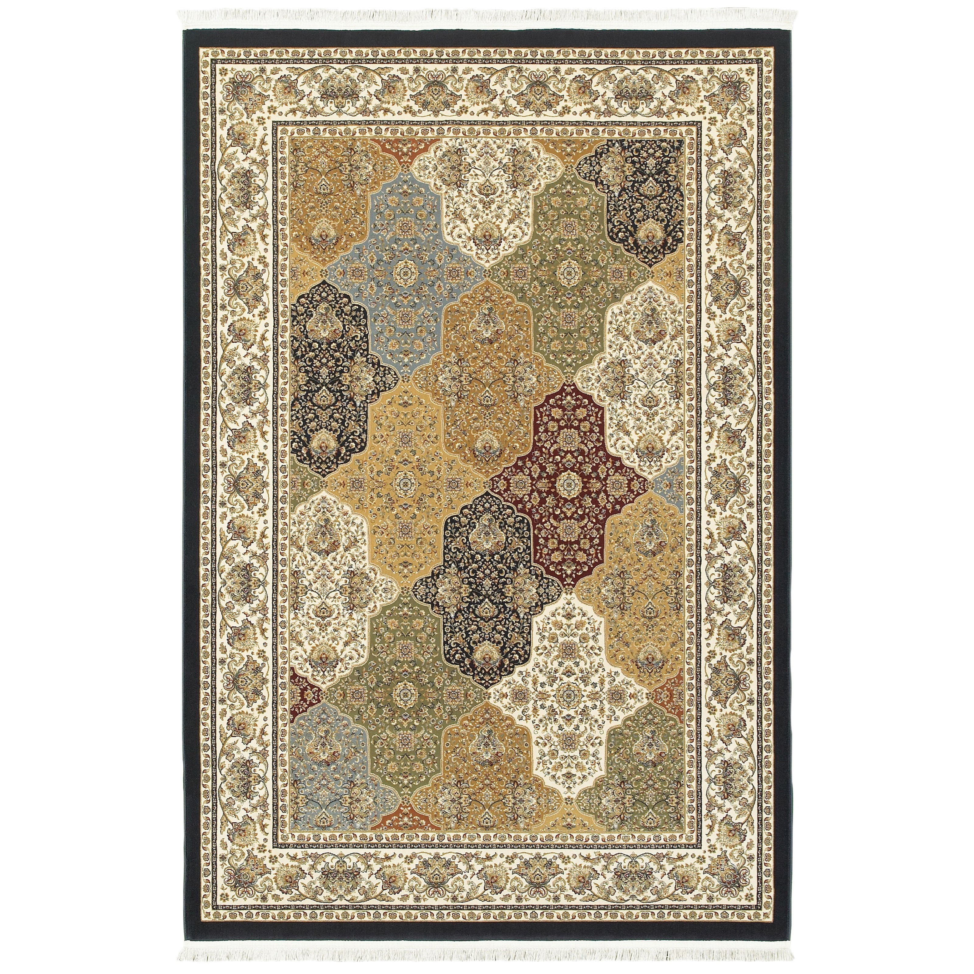 """Masterpiece 6' 7"""" X  9' 6"""" Rectangle Rug by Oriental Weavers at Steger's Furniture"""