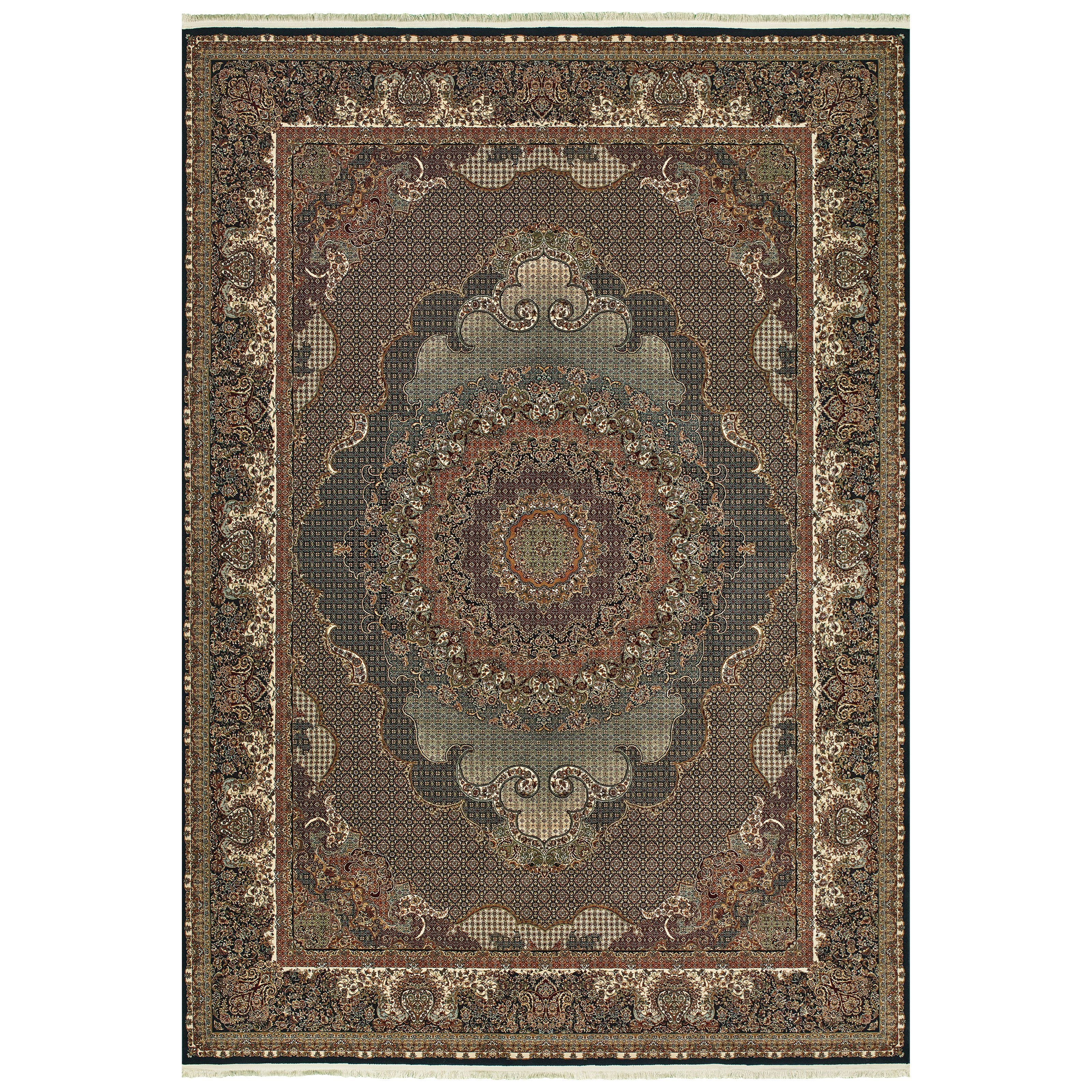 """Masterpiece 9'10"""" X 12'10"""" Rectangle Rug by Oriental Weavers at Steger's Furniture"""