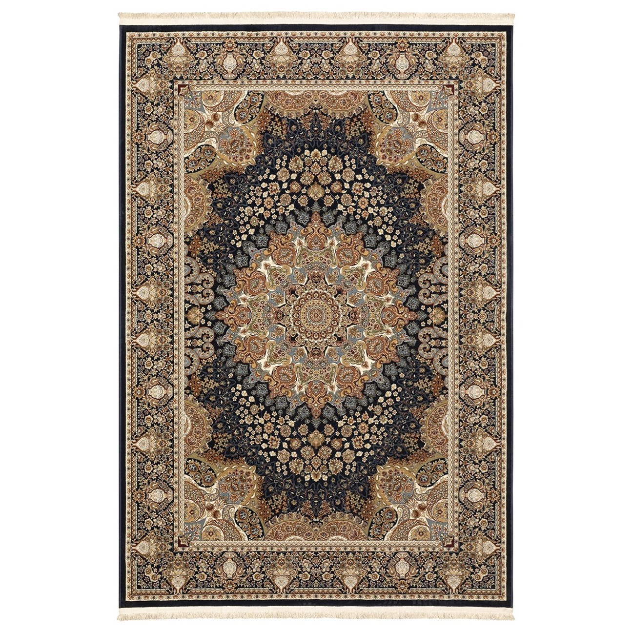 """Masterpiece 7' 10"""" x 10' 10"""" Rug by Oriental Weavers at Darvin Furniture"""