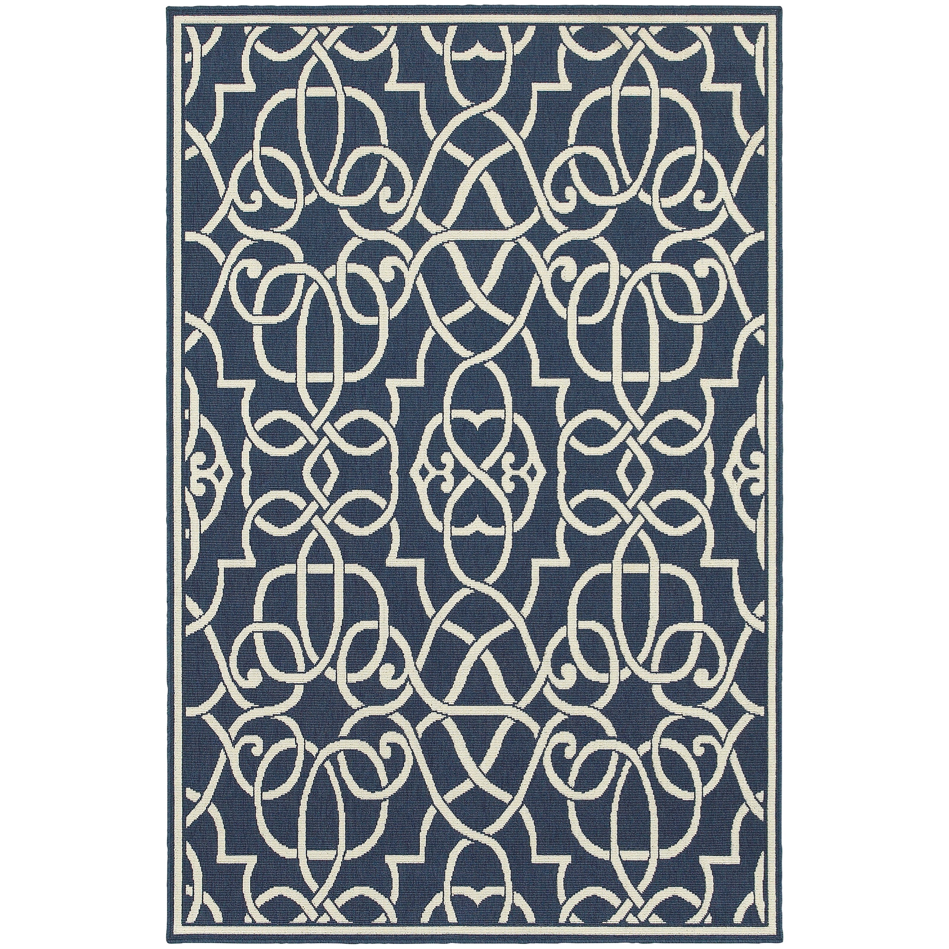 "Meridian 7'10"" X 10'10"" Rectangle Area Rug by Oriental Weavers at Dunk & Bright Furniture"