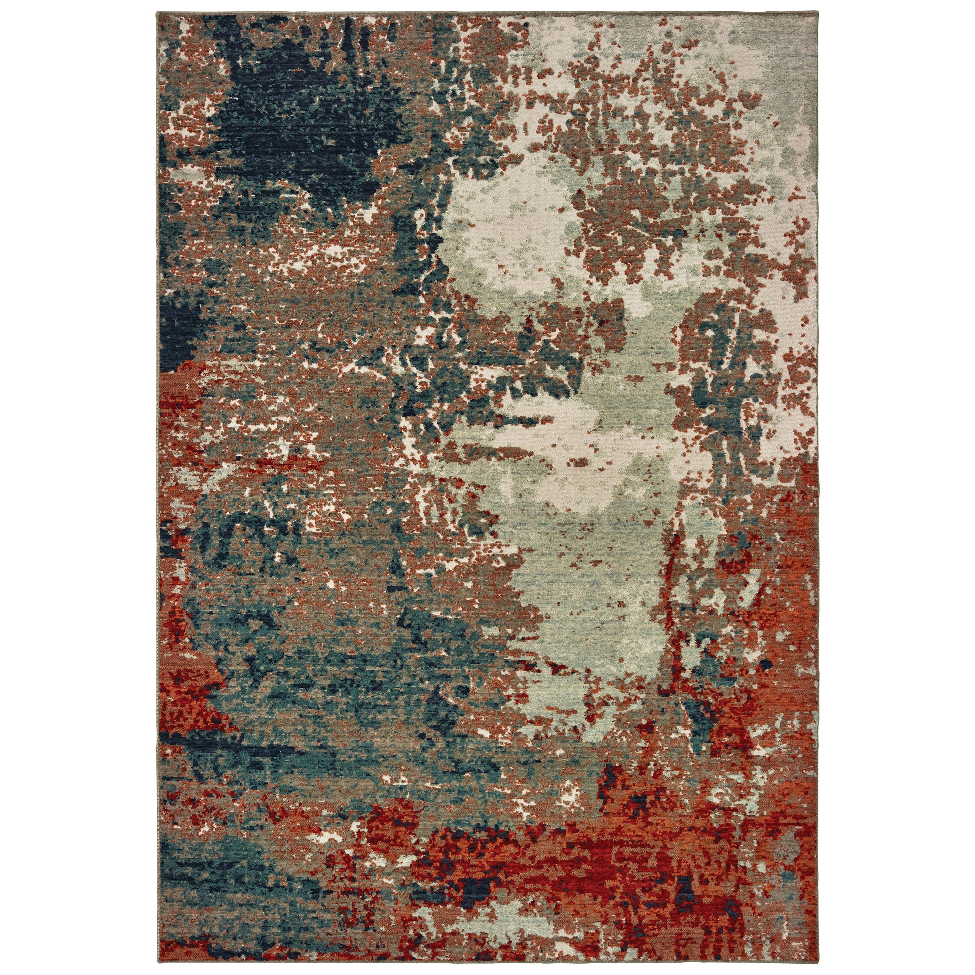 "Montage 6' 7"" X  9' 6"" Rectangle Rug by Oriental Weavers at Miller Waldrop Furniture and Decor"