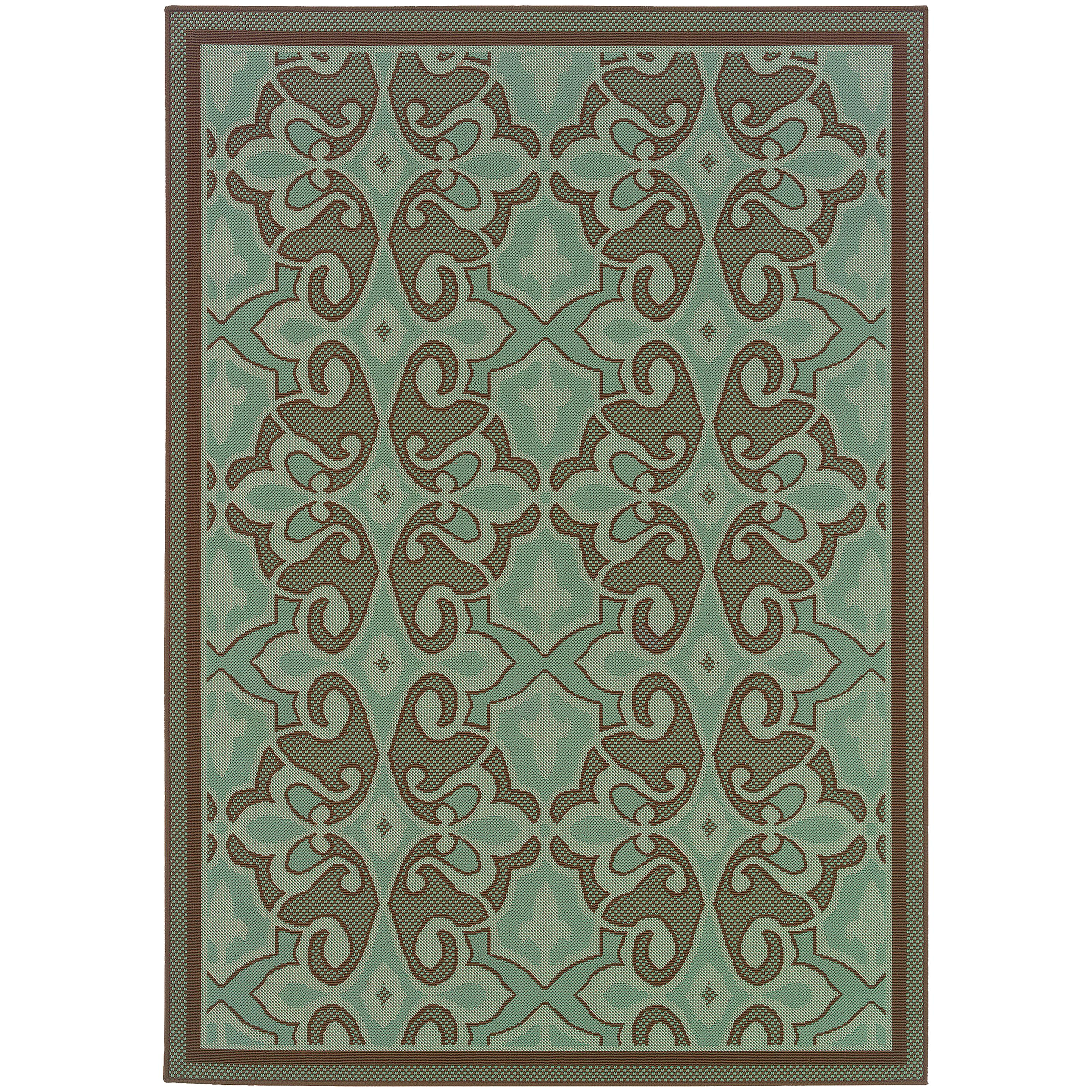 """Montego 6' 7"""" X  9' 6"""" Rug by Oriental Weavers at Novello Home Furnishings"""