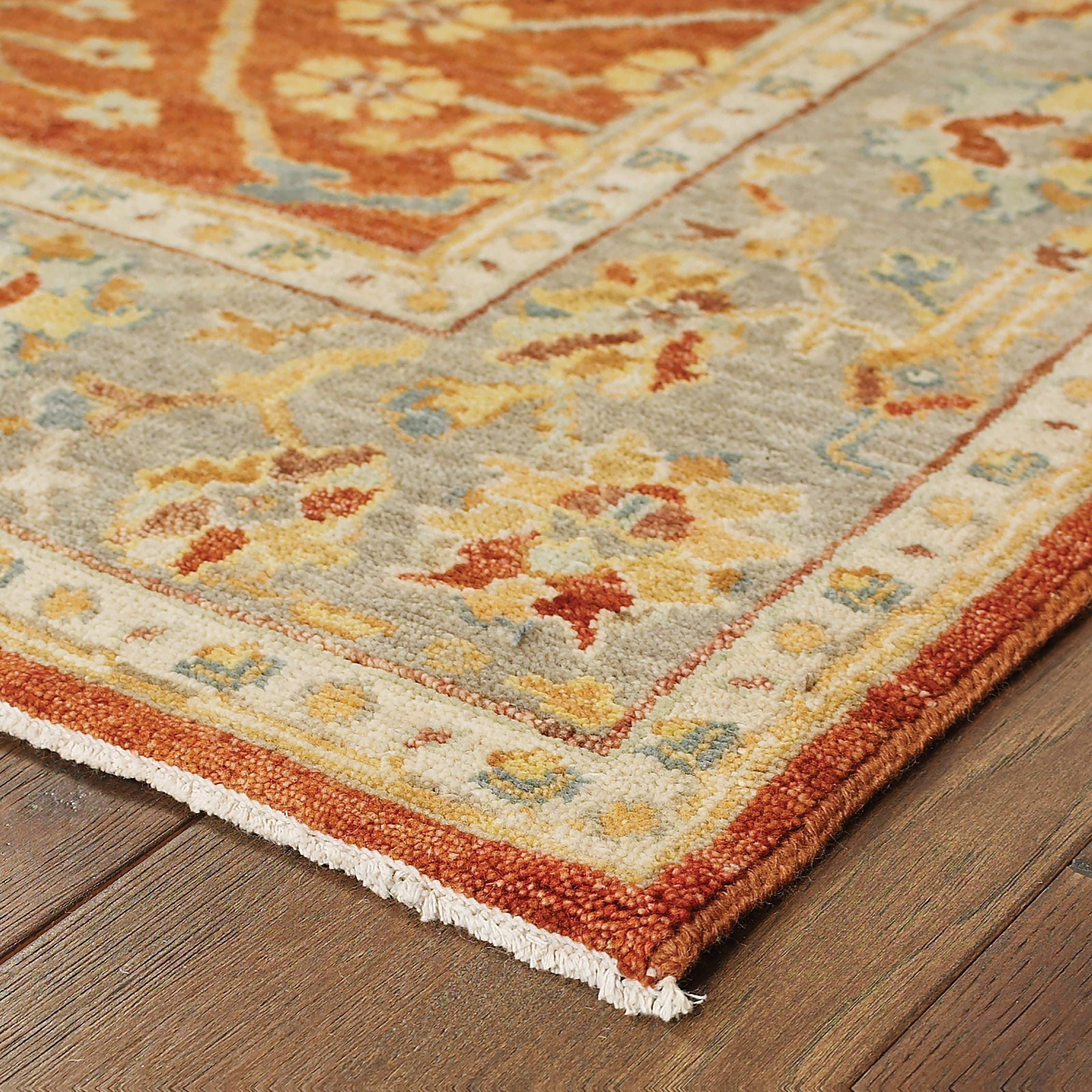 "Palace 2' 6"" X 10' 0"" Runner Rug by Oriental Weavers at Novello Home Furnishings"