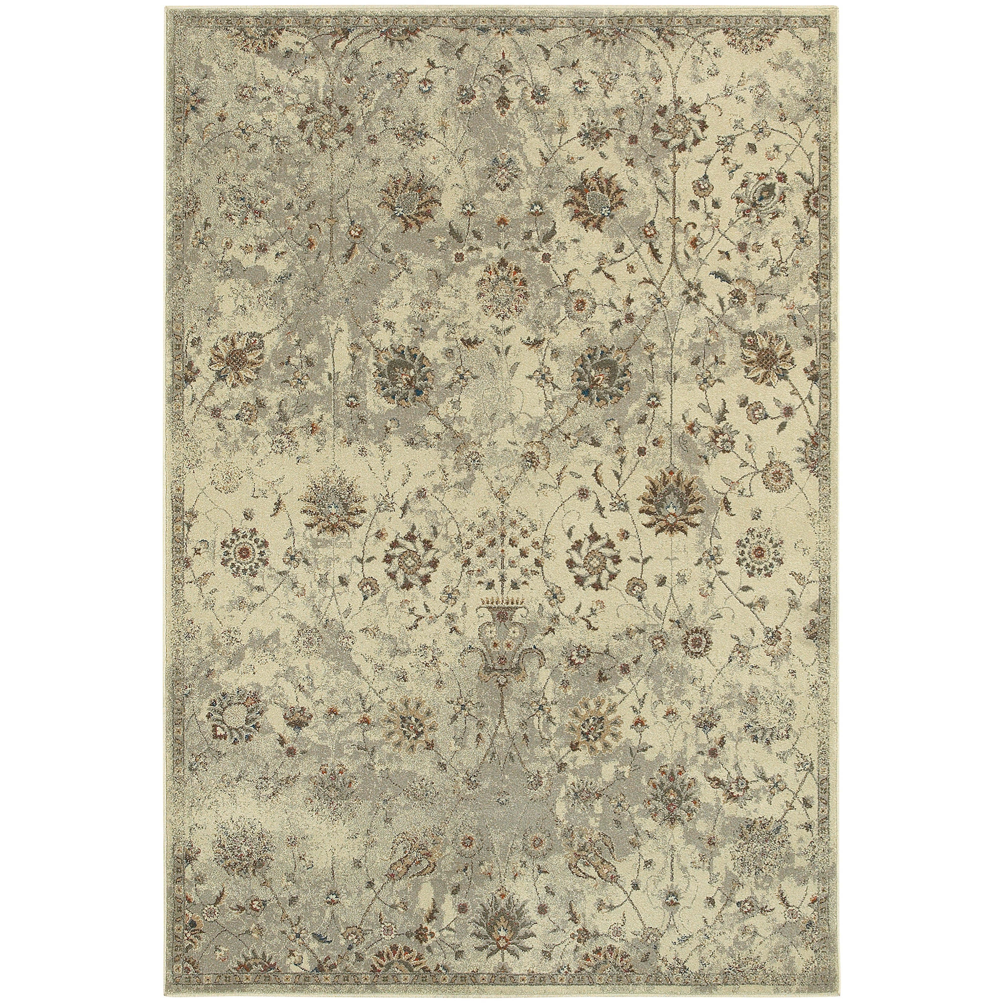 "Pasha 9'10"" X 12'10"" Rectangle Area Rug by Oriental Weavers at Dunk & Bright Furniture"