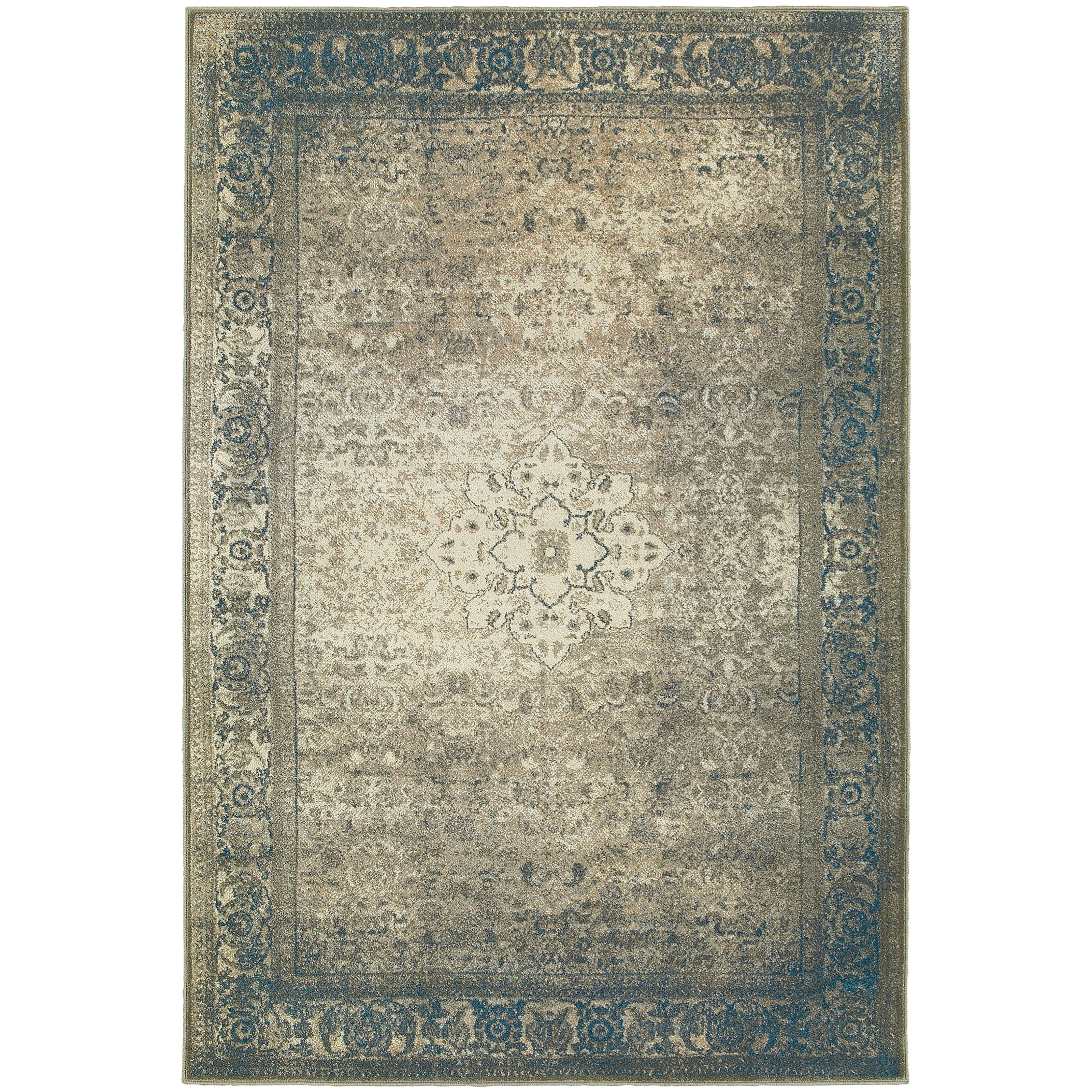 "Pasha 9'10"" X 12'10"" Rectangle Area Rug by Oriental Weavers at Steger's Furniture"