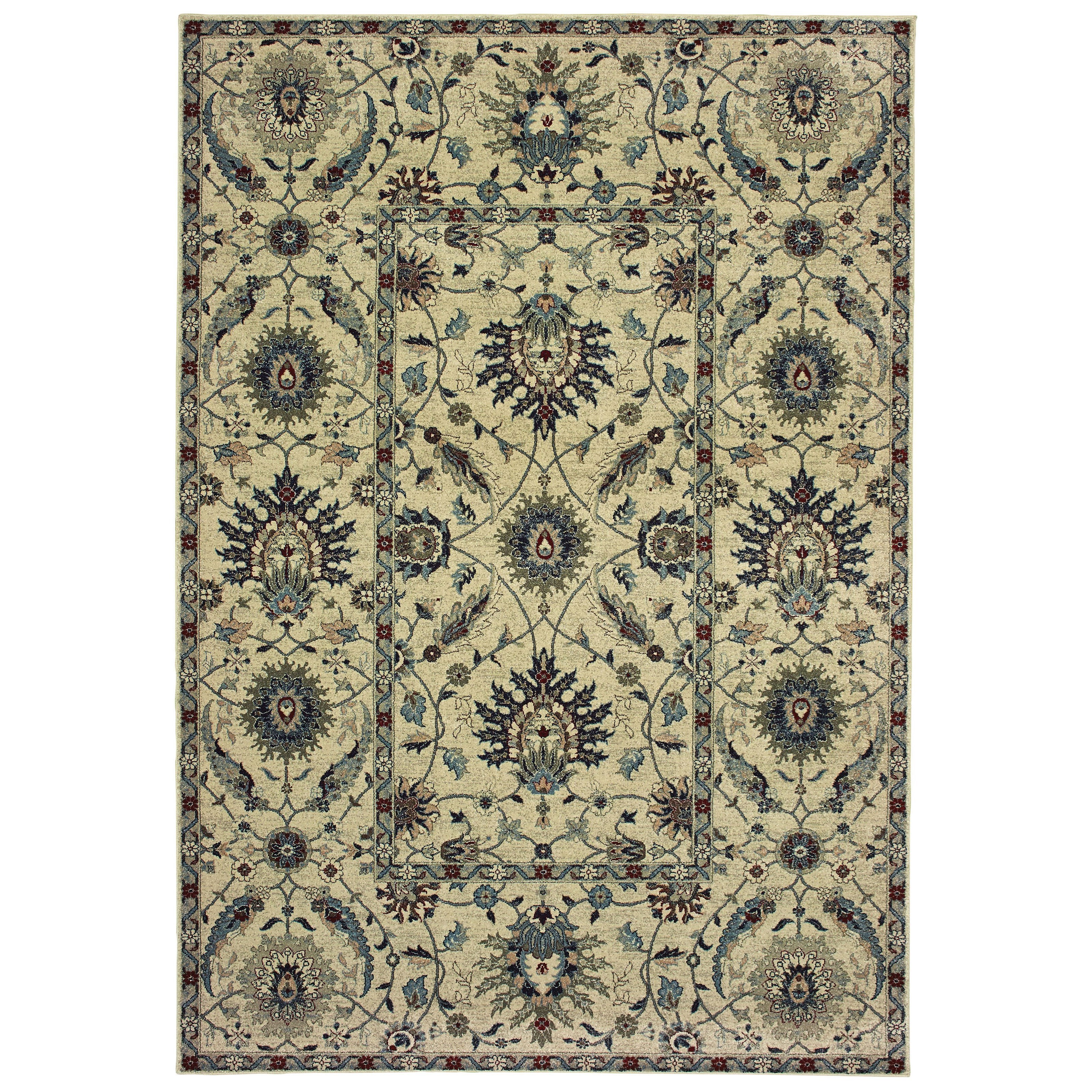 "Raleigh 9'10"" X 12'10"" Rectangle Rug by Oriental Weavers at Dunk & Bright Furniture"