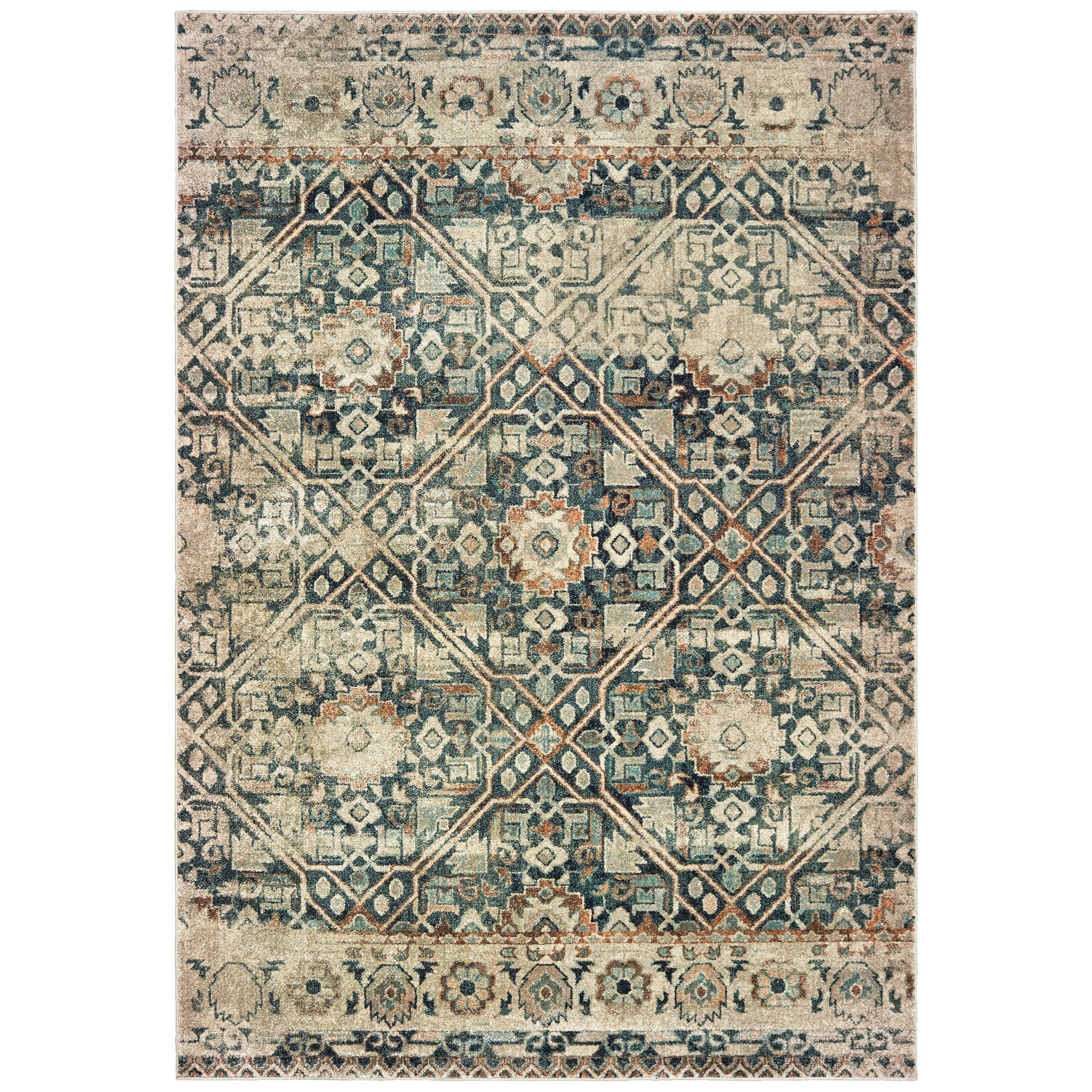 """Raleigh 7'10"""" X 10'10"""" Rectangle Rug by Oriental Weavers at Jacksonville Furniture Mart"""