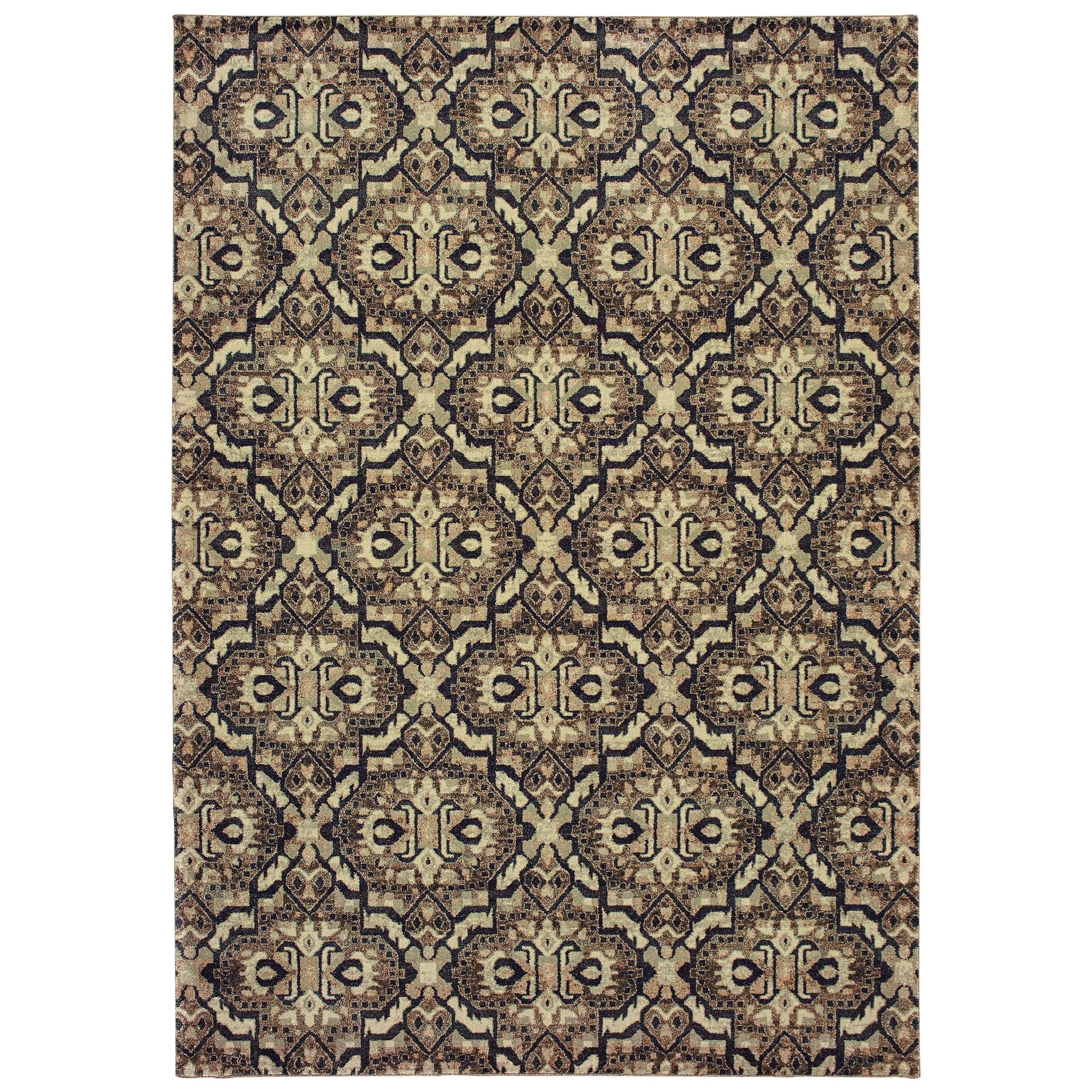 """Raleigh 5' 3"""" X  7' 6"""" Rectangle Rug by Oriental Weavers at Steger's Furniture"""