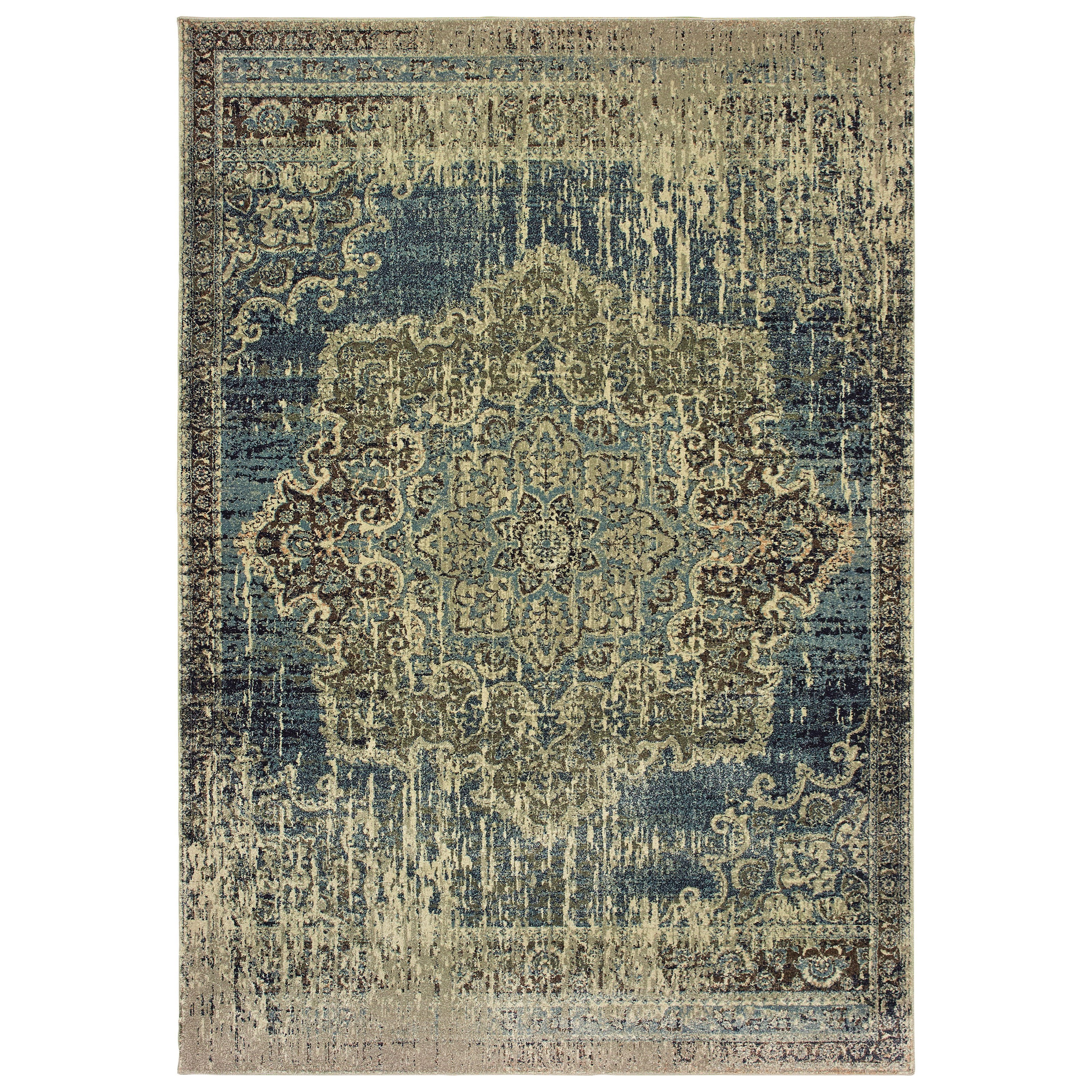 """Raleigh 6' 7"""" X  9' 6"""" Rectangle Rug by Oriental Weavers at Steger's Furniture"""