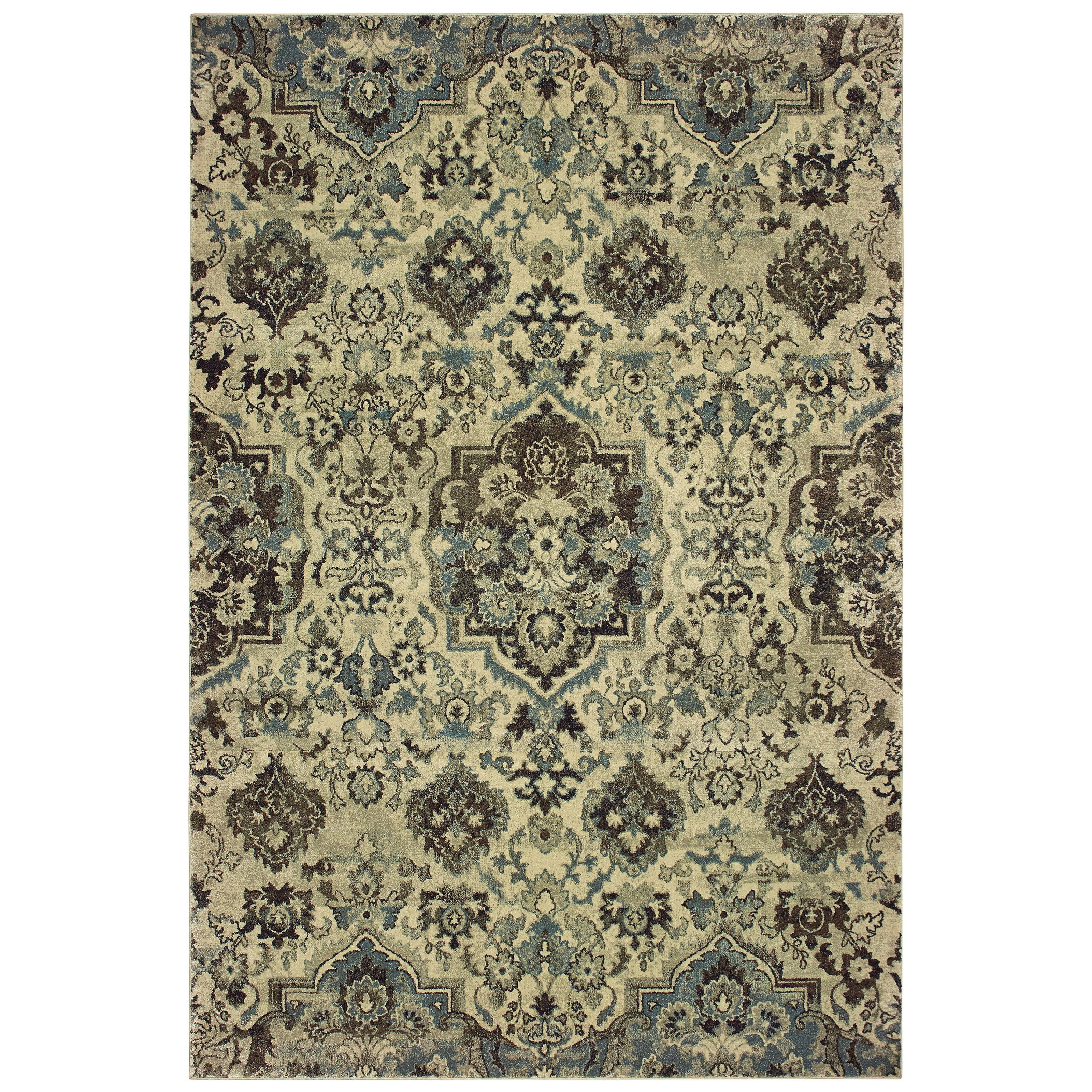"""Raleigh 9'10"""" X 12'10"""" Rectangle Rug by Oriental Weavers at Novello Home Furnishings"""