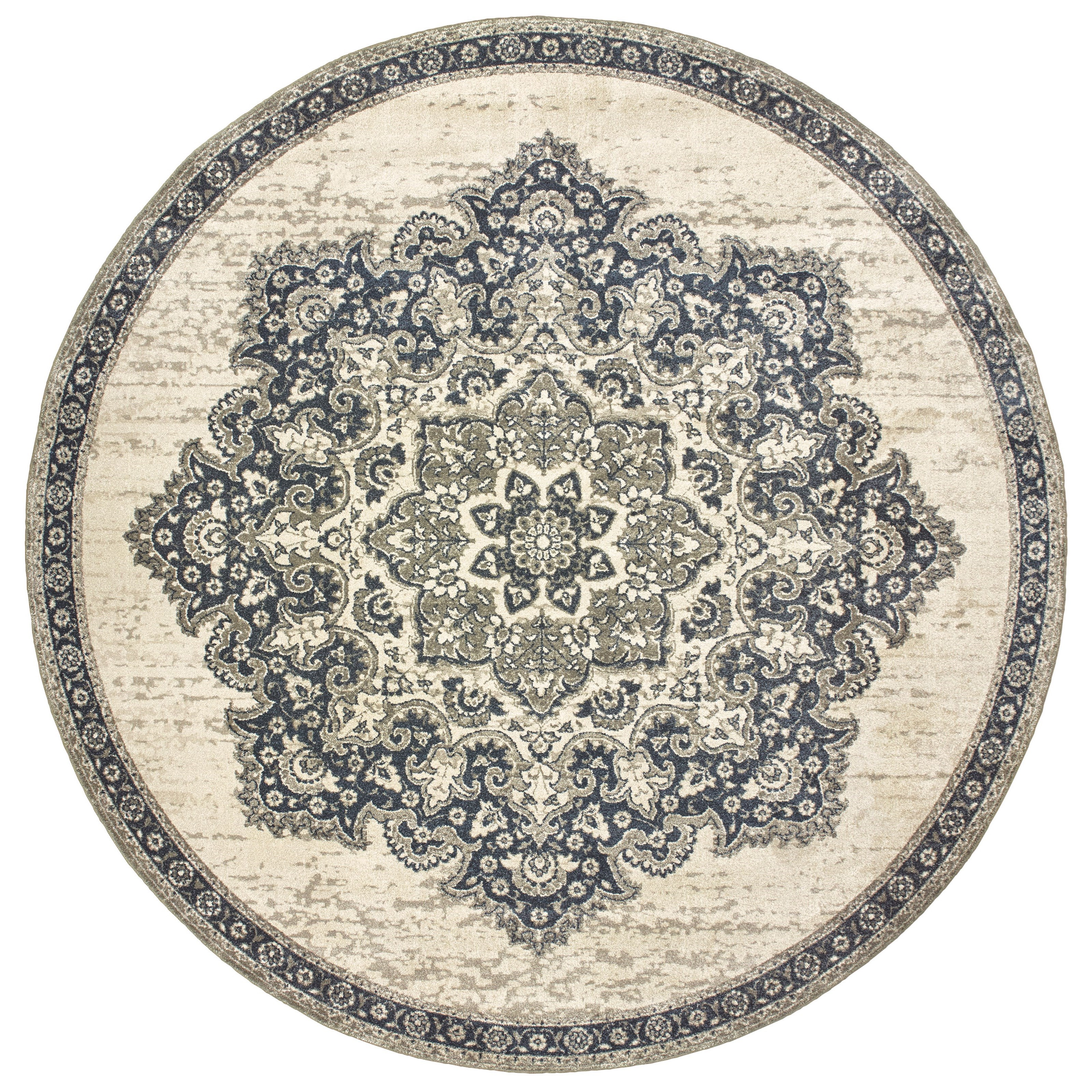 "Richmond 7'10"" Round Rug by Oriental Weavers at Steger's Furniture"