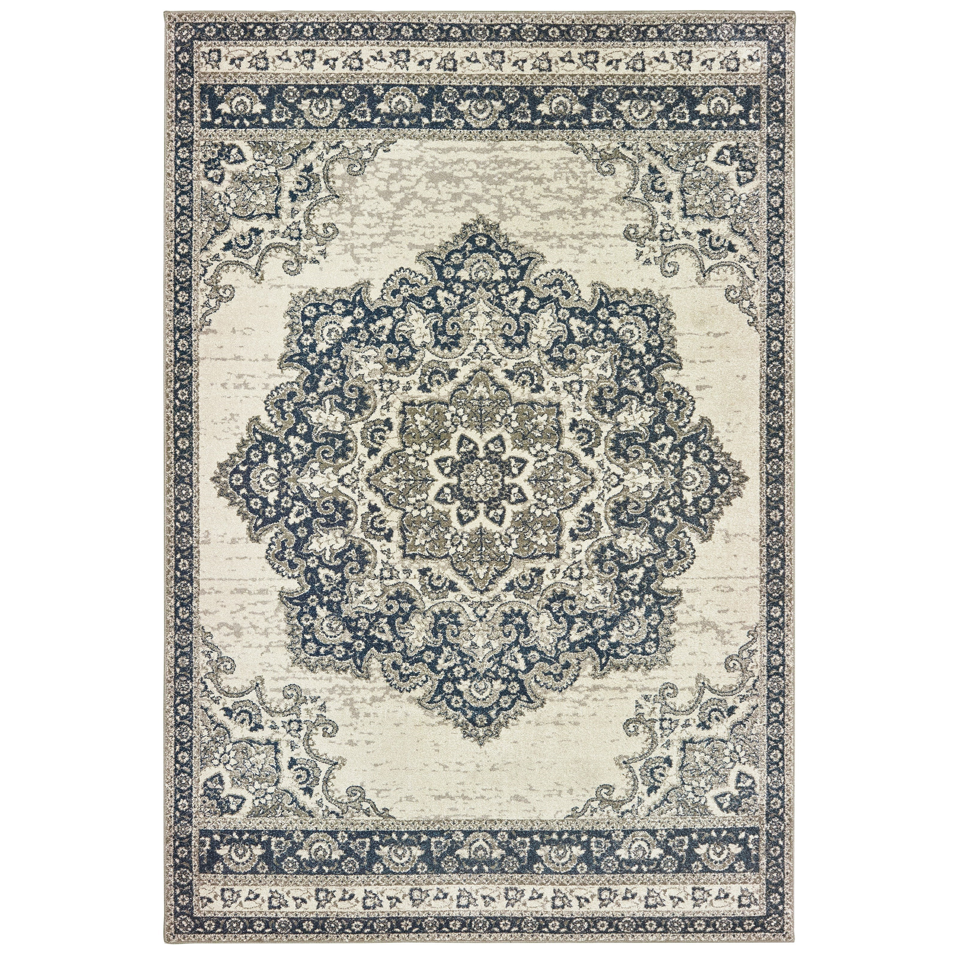 """Richmond 7'10"""" X 10'10"""" Rectangle Rug by Oriental Weavers at Miller Waldrop Furniture and Decor"""