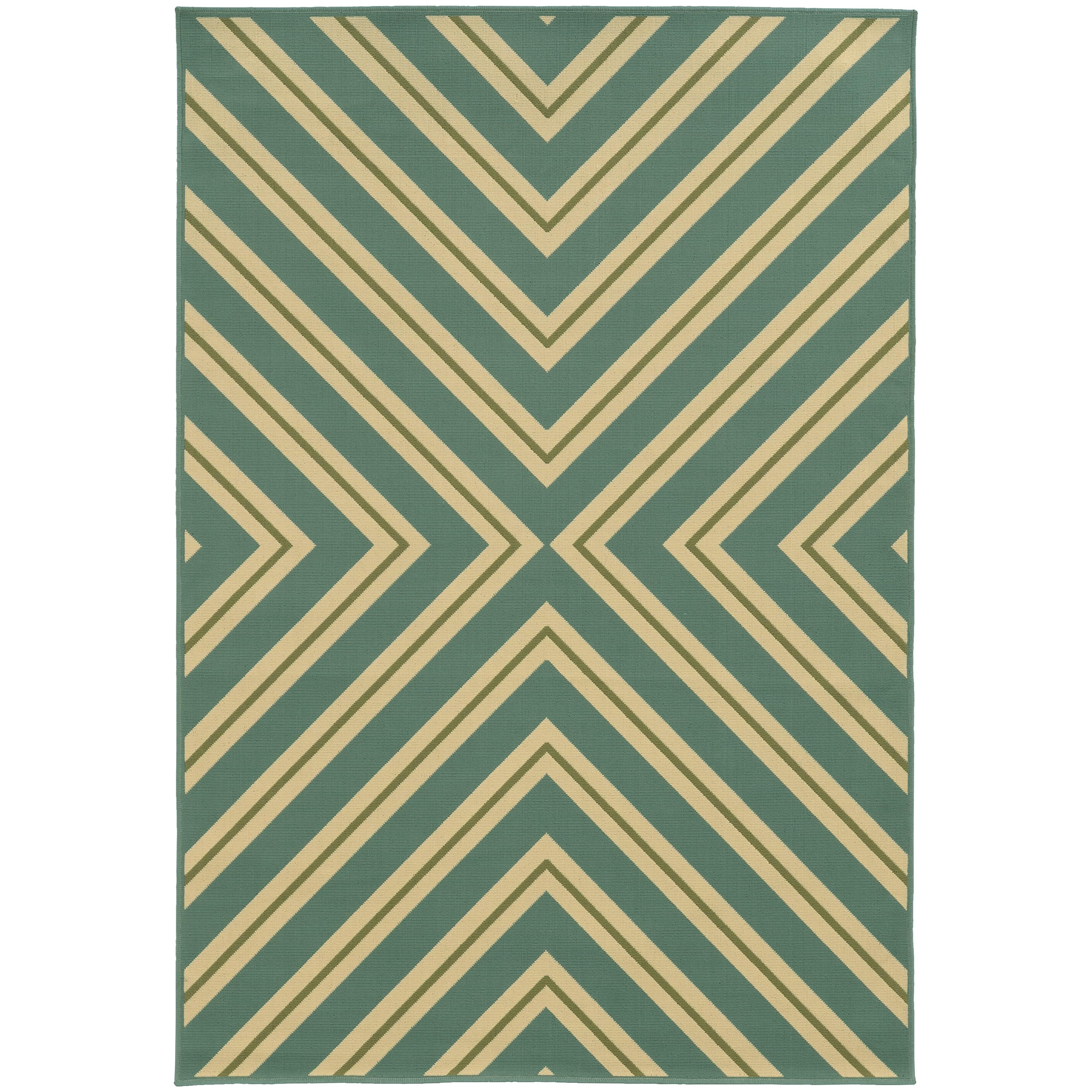 """Riviera 6' 7"""" X  9' 6"""" Rug by Oriental Weavers at Rooms for Less"""