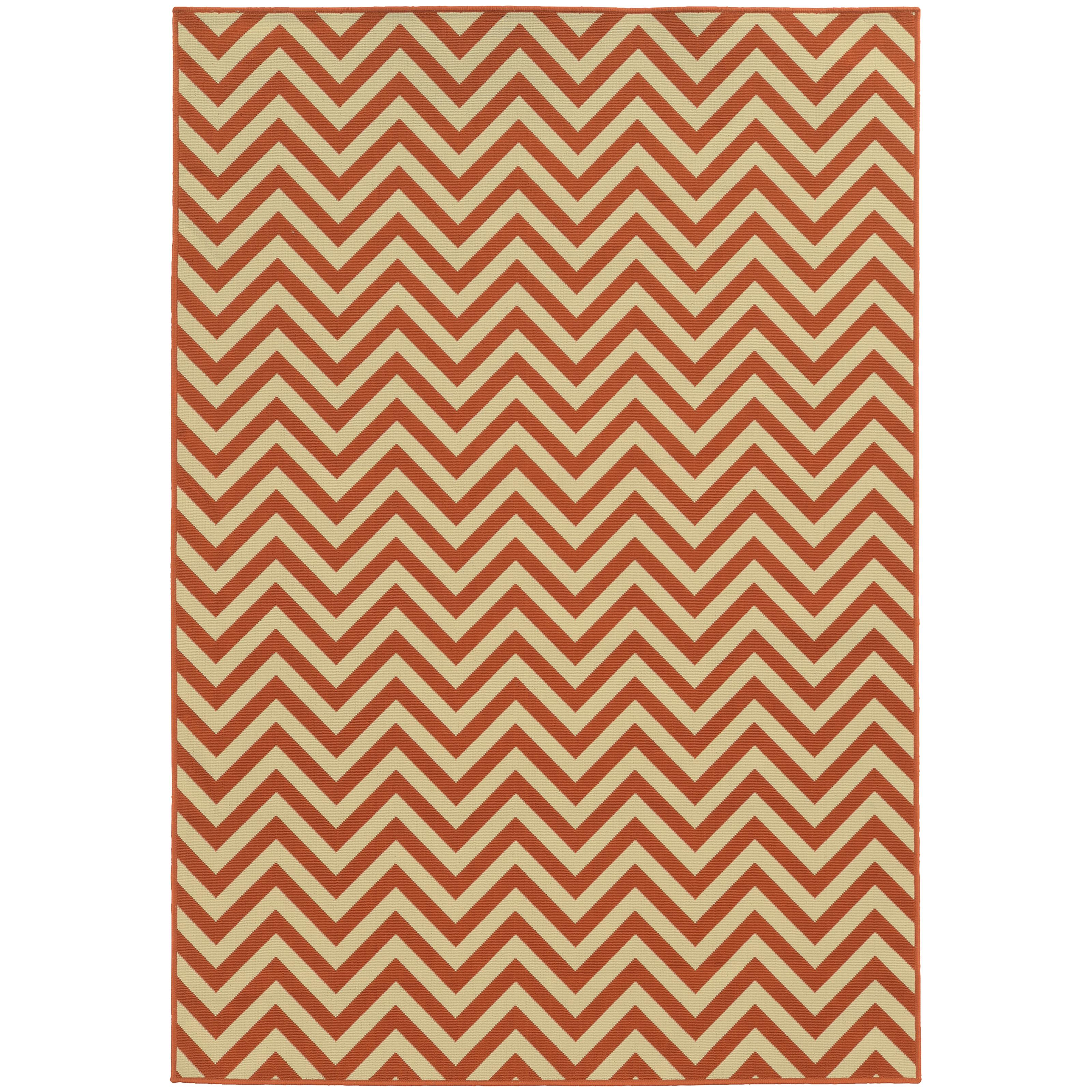 """Riviera 5' 3"""" X  7' 6"""" Rug by Oriental Weavers at Novello Home Furnishings"""