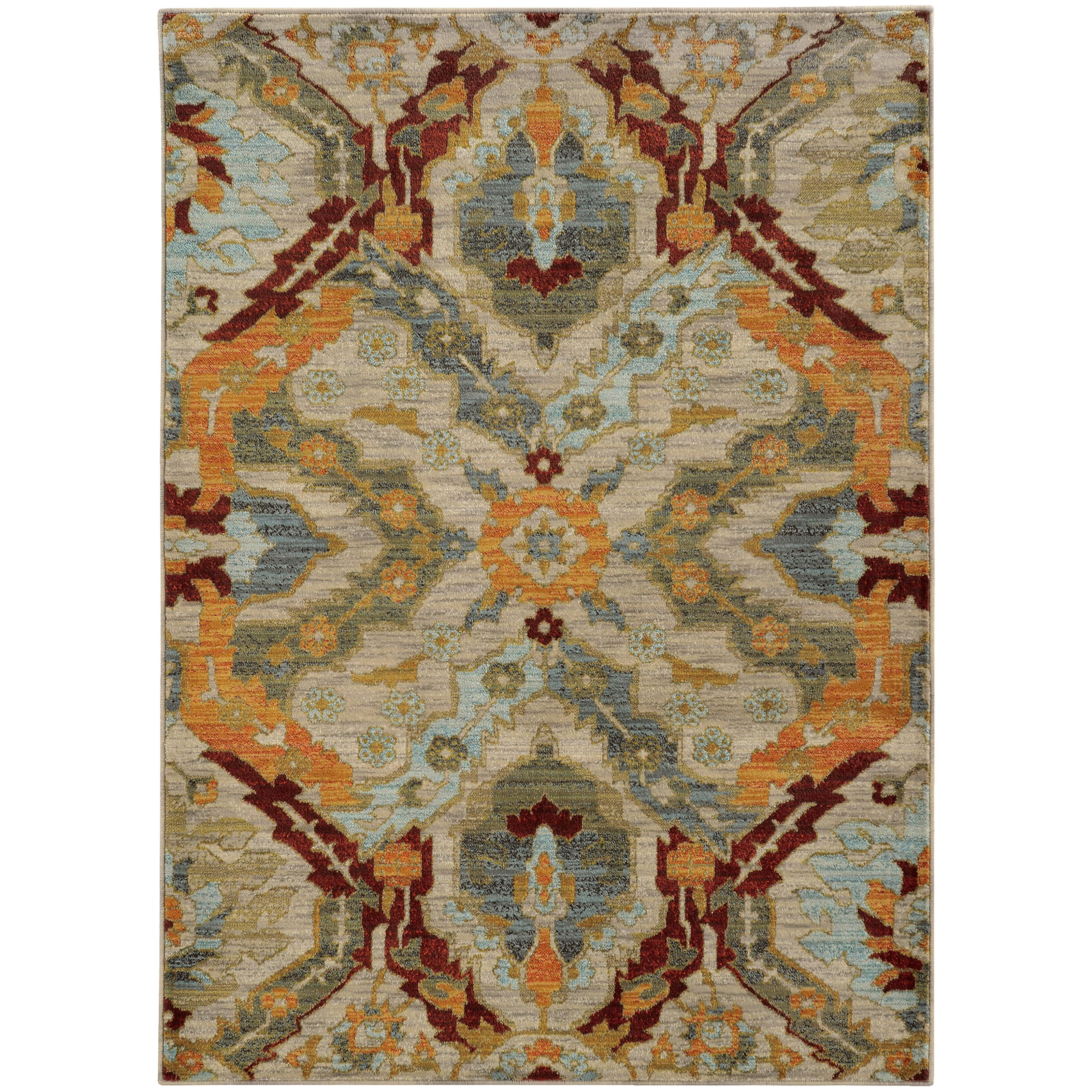 "Sedona 3'10"" X  5' 5"" Rug by Oriental Weavers at Novello Home Furnishings"