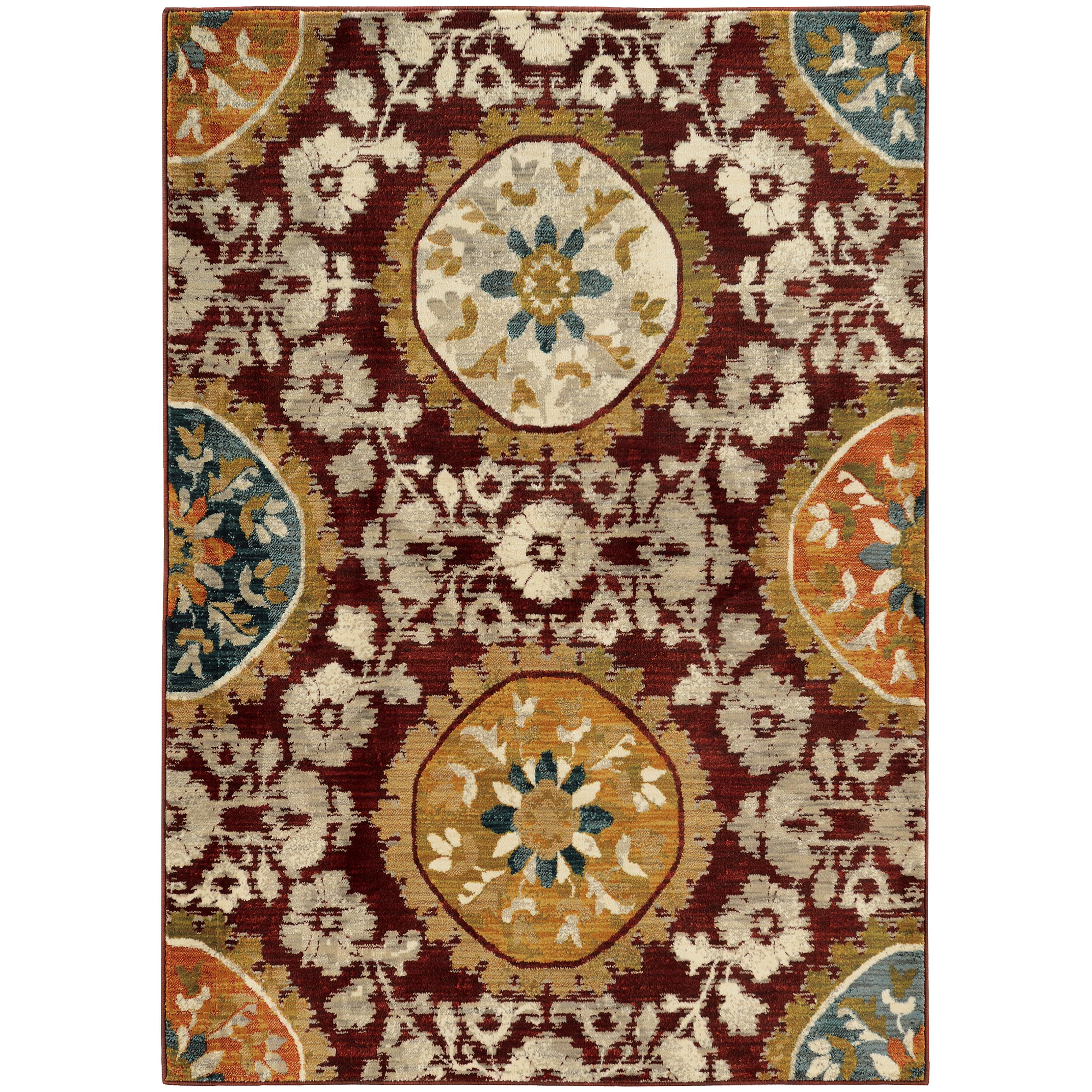 "Sedona 7'10"" X 10'10"" Rug by Oriental Weavers at Esprit Decor Home Furnishings"