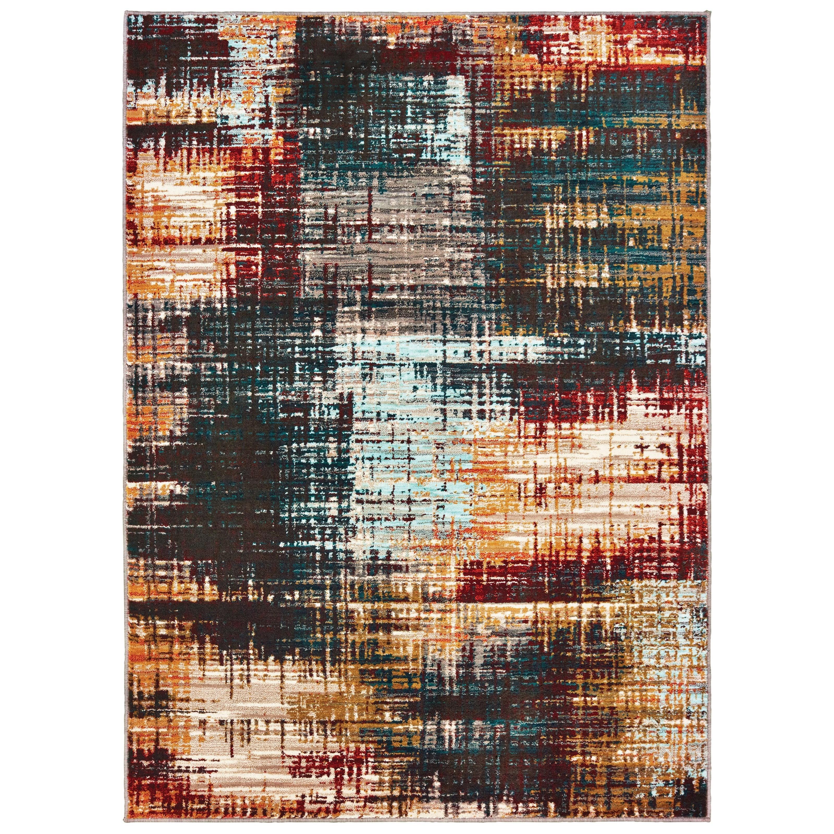 "Sedona 7'10"" X 10'10"" Rectangle Rug by Oriental Weavers at Novello Home Furnishings"