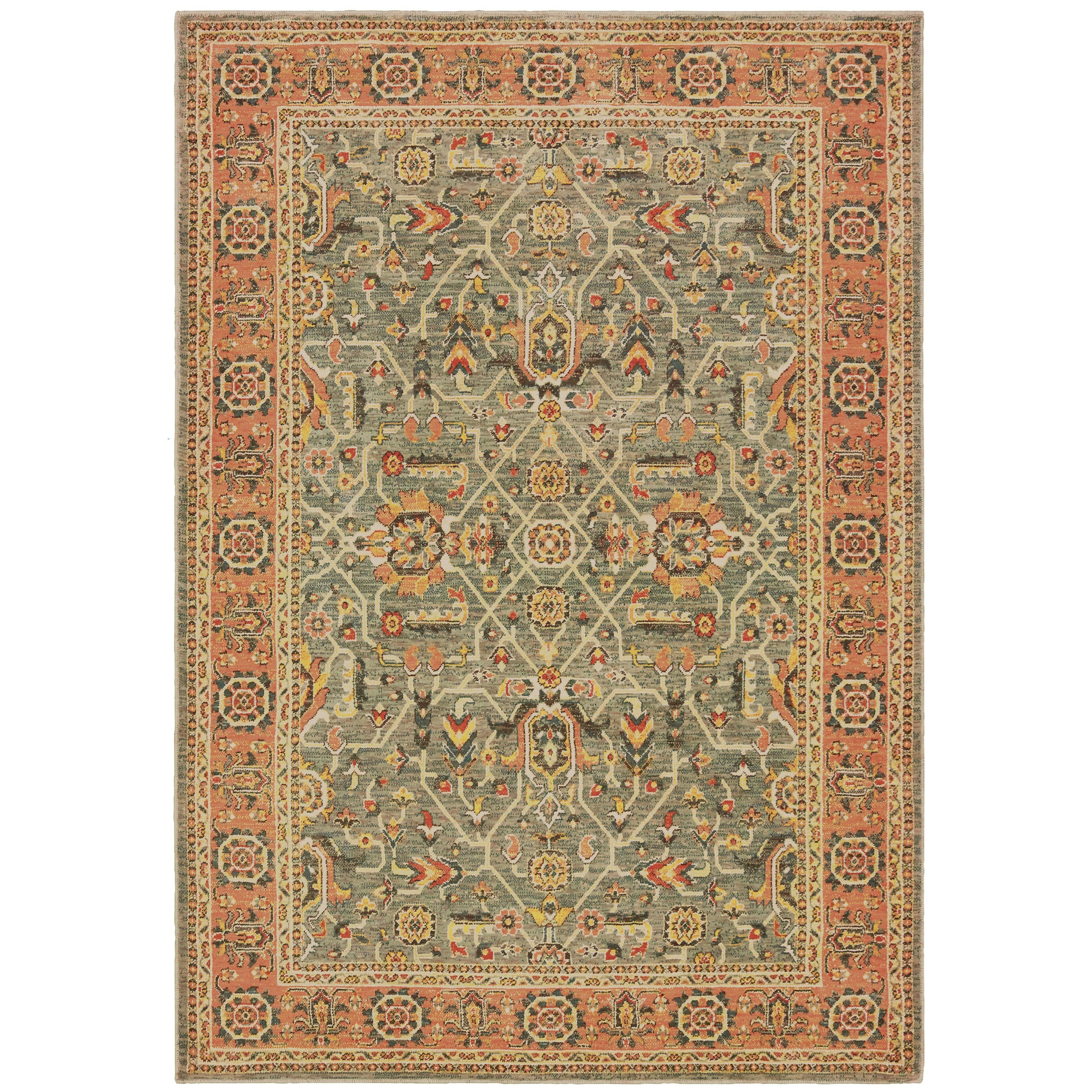 """Toscana 9'10"""" X 12'10"""" Rectangle Rug by Oriental Weavers at Steger's Furniture"""