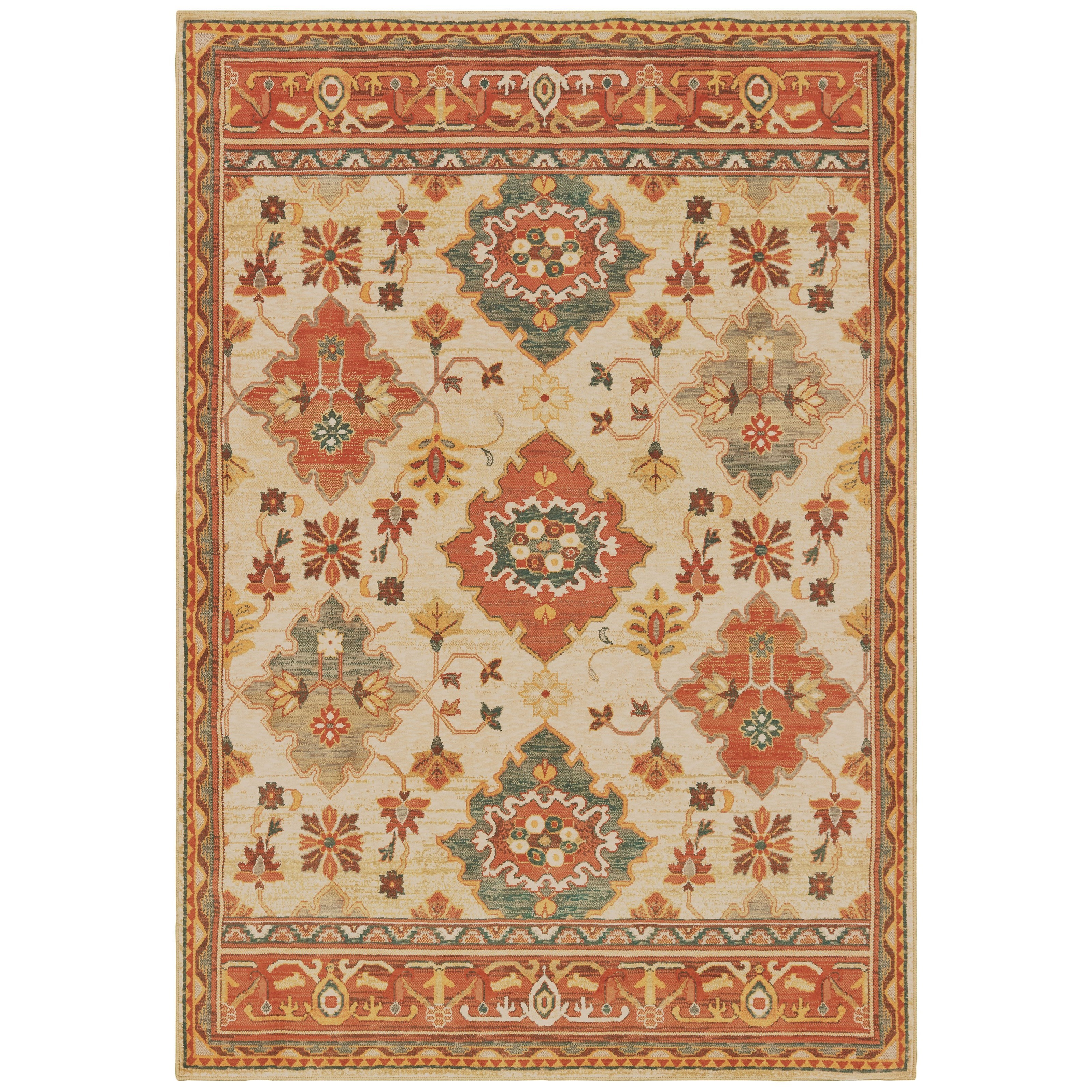 """Toscana 5' 3"""" X  7' 6"""" Rectangle Rug by Oriental Weavers at Furniture Superstore - Rochester, MN"""