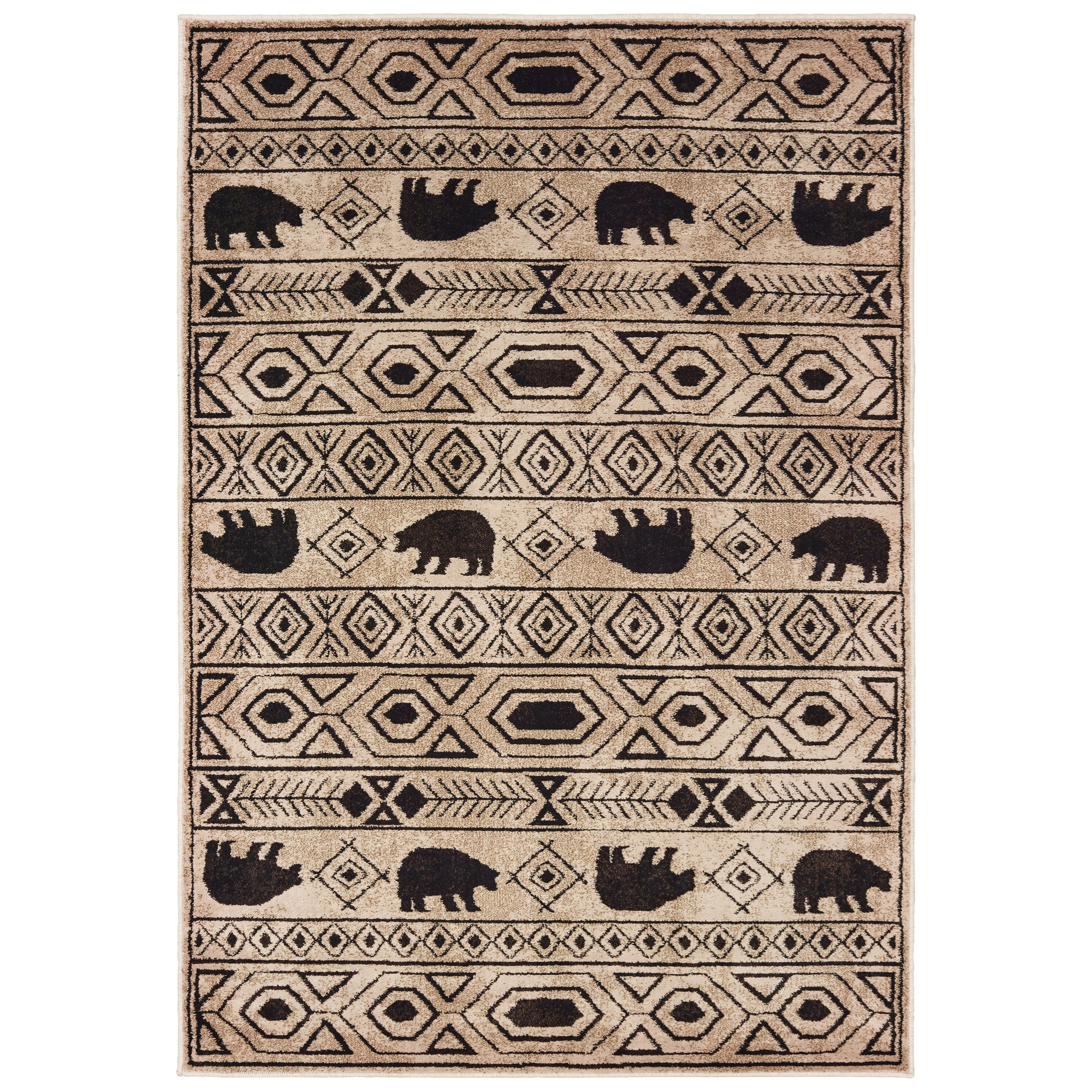 """Woodlands 6' 7"""" X  9' 2"""" Rectangle Rug by Oriental Weavers at Steger's Furniture"""