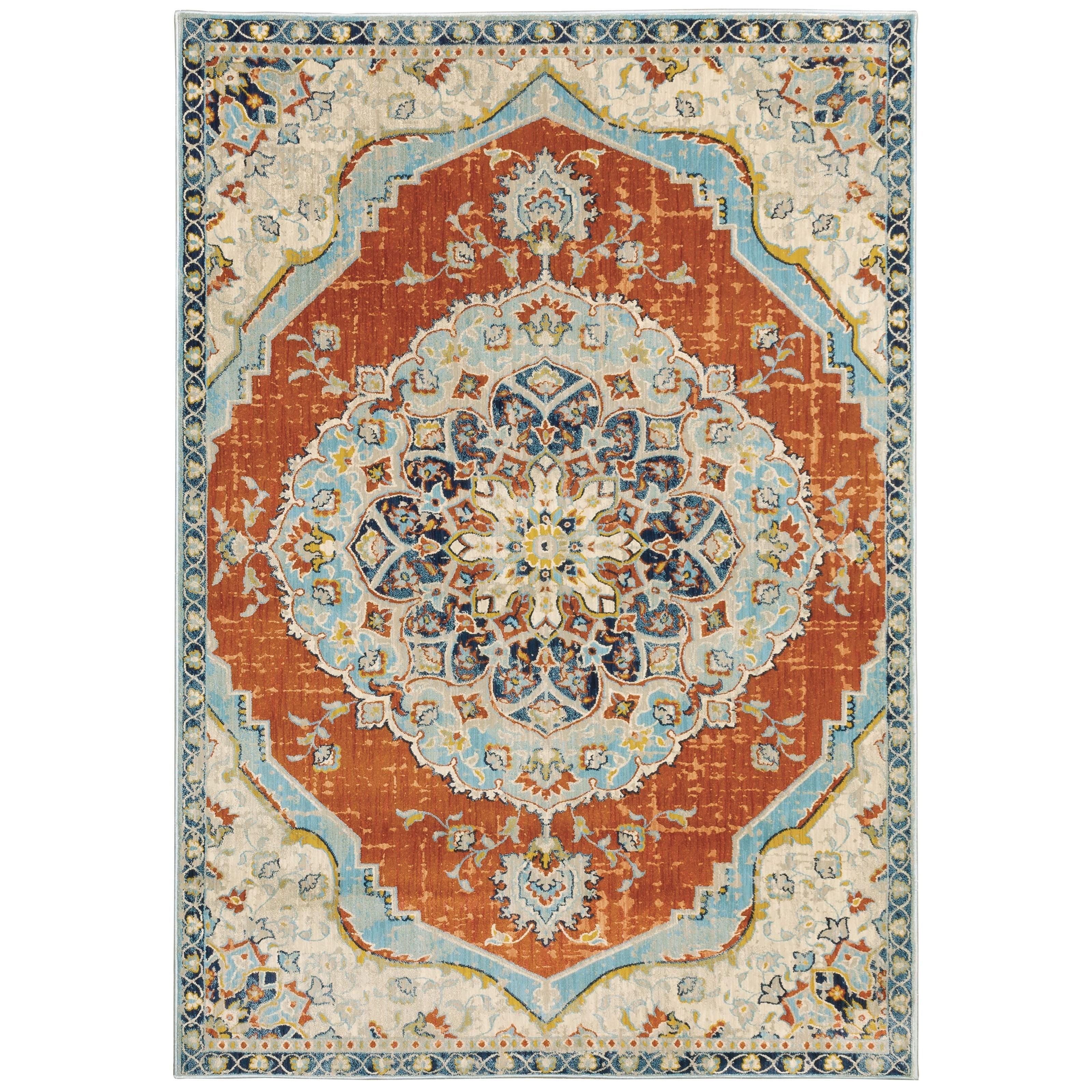 "Xanadu 9'10"" X 12'10"" Rectangle Rug by Oriental Weavers at Novello Home Furnishings"