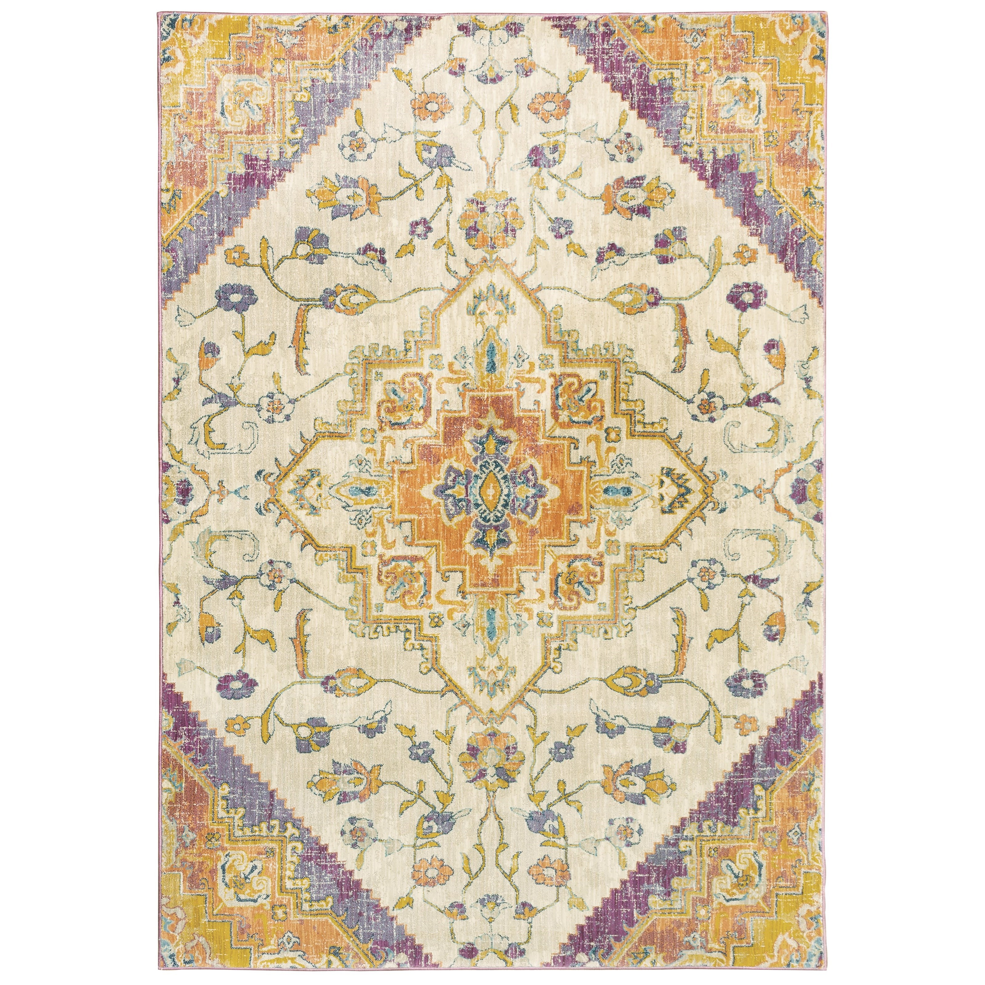 "Xanadu 7'10"" X 10'10"" Rectangle Rug by Oriental Weavers at Novello Home Furnishings"