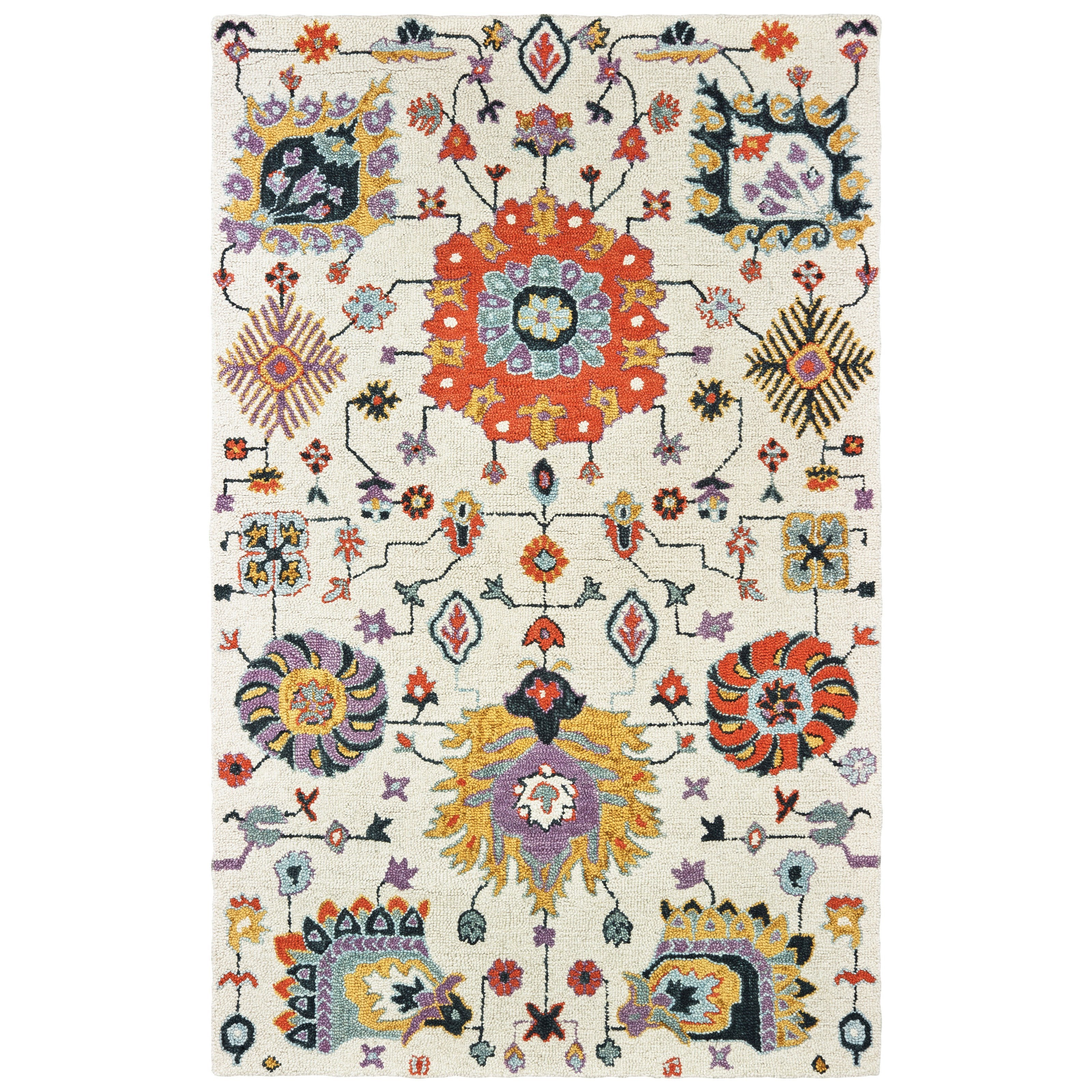 Zahra 10' X 13' Rectangle Rug by Oriental Weavers at Steger's Furniture