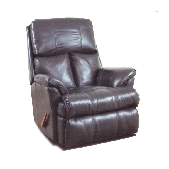 Reserve Seating 100% Leather Chaise Rocker Recliner by Ort Manufacturing at Wayside Furniture