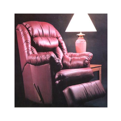 Handle Recliner Rocker Recliner with Coil Seating by Ort Manufacturing at Wayside Furniture