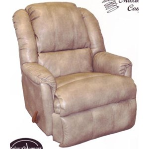 Power Chaise Rocker Recliner with Coil Seating