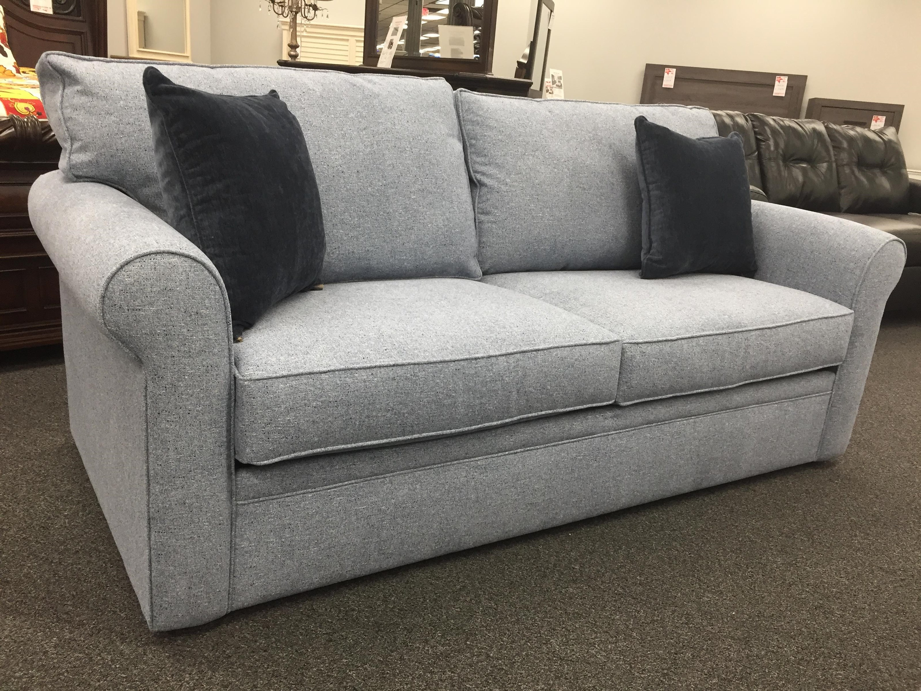 2950 Queen Sleeper Sofa by Overnight Sofa at Furniture Fair - North Carolina
