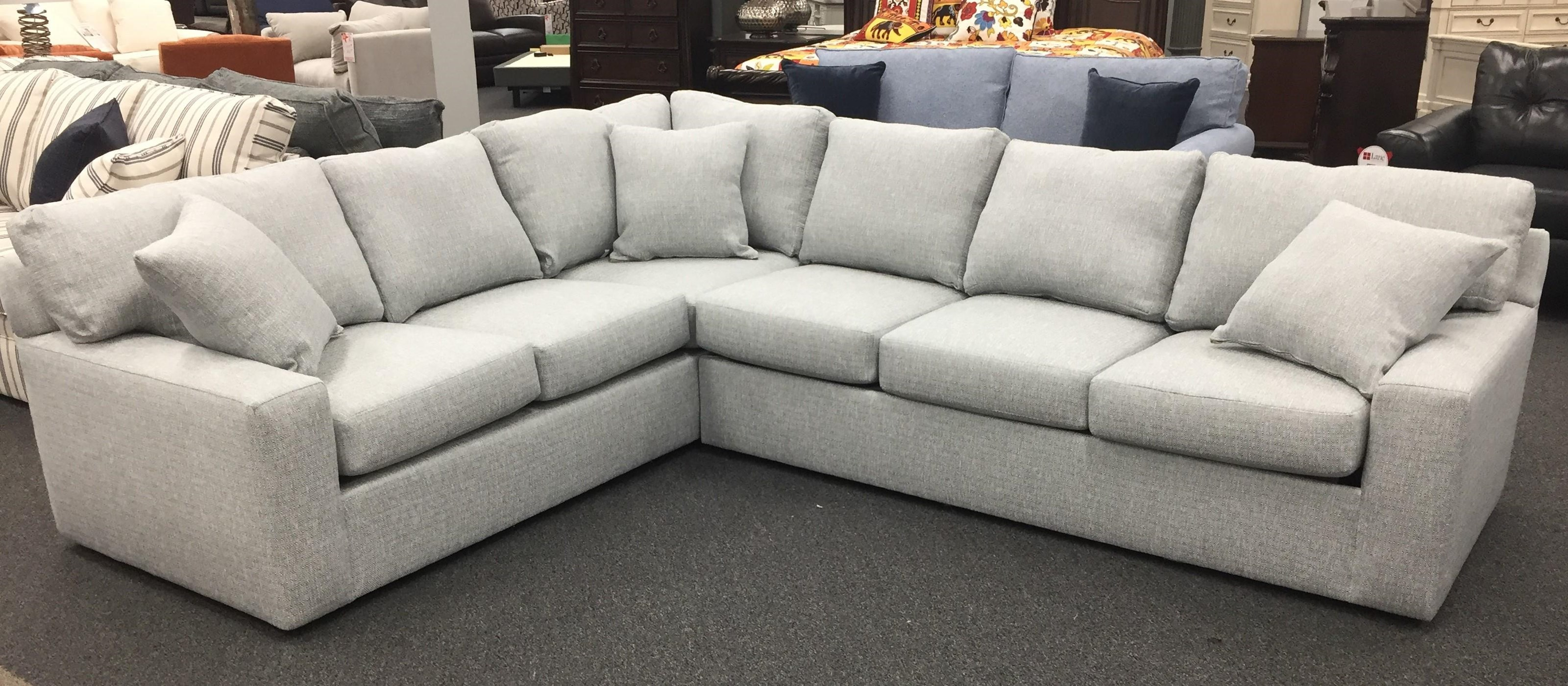 503-5060 SECTIONAL Two Piece Sleeper Sectional by Overnight Sofa at Furniture Fair - North Carolina