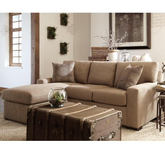 51 Frame Casual Queen Sleeper Chaise by Warehouse M at Pilgrim Furniture City
