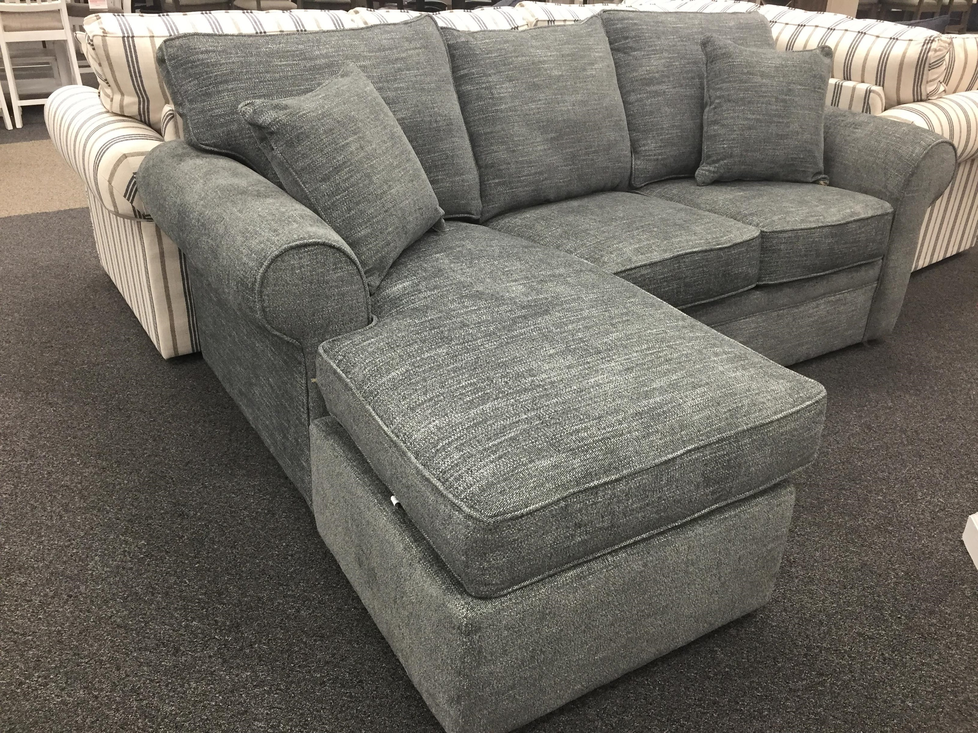 56 Queen Sleeper Chaise by Overnight Sofa at Furniture Fair - North Carolina