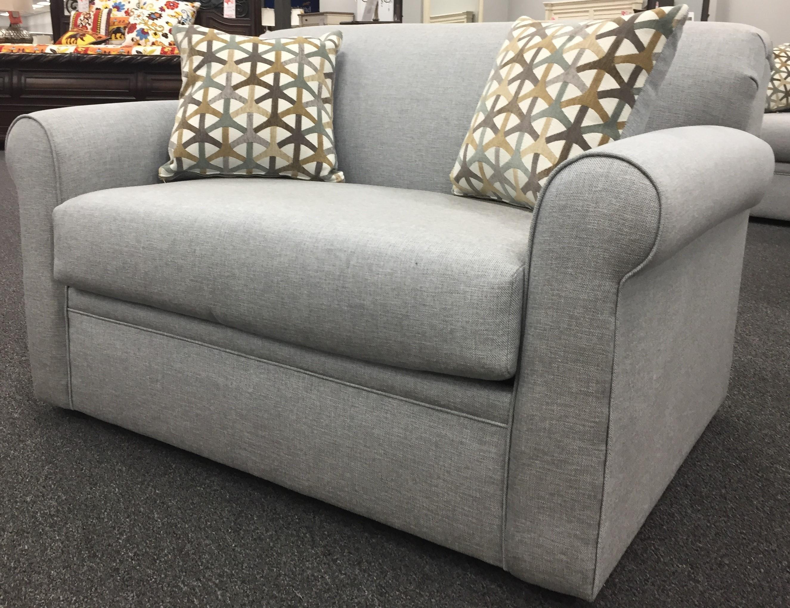 2300 Twin Sleeper Sofa by Overnight Sofa at Furniture Fair - North Carolina