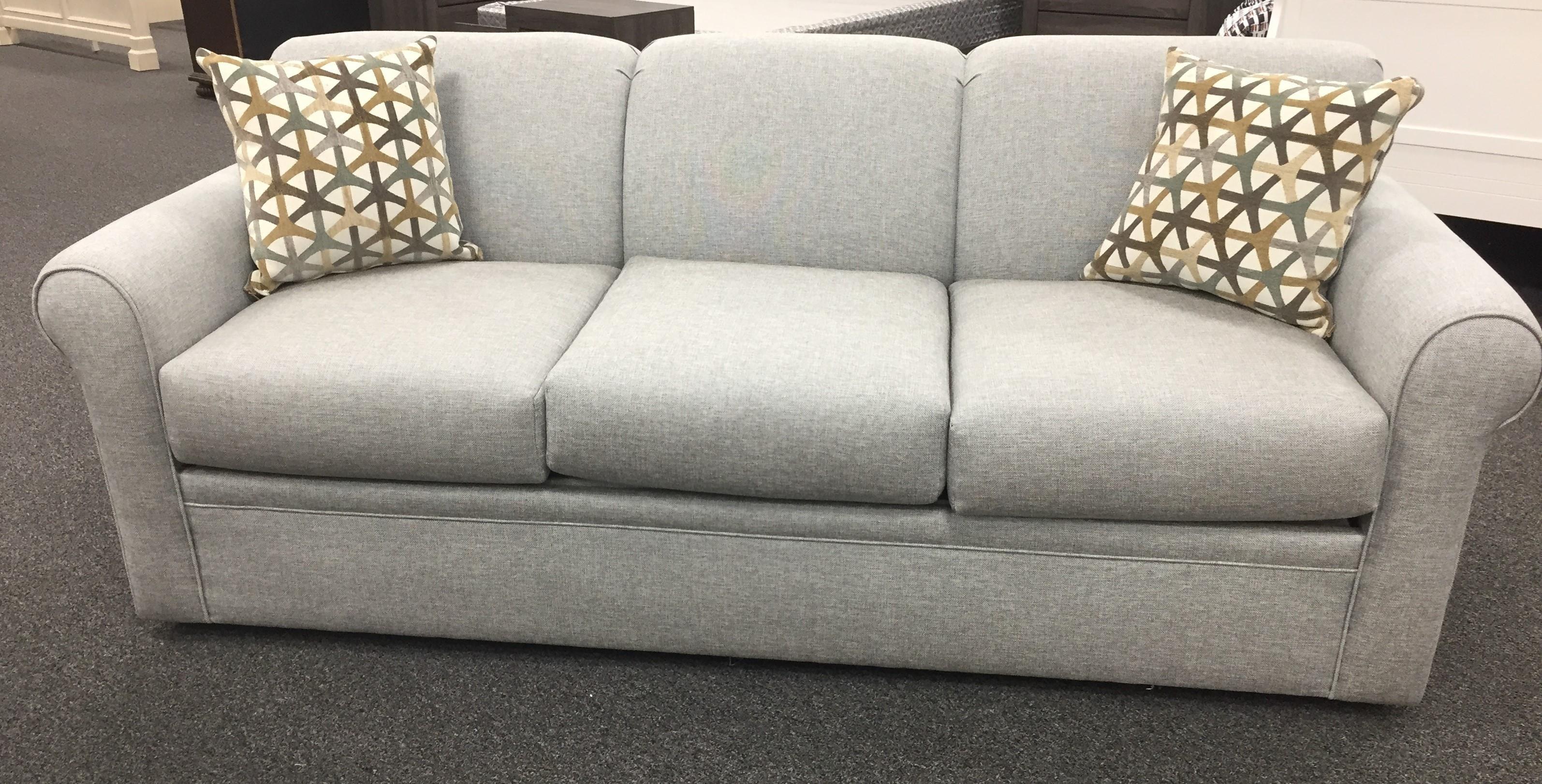 2300 Queen Sleeper Sofa by Overnight Sofa at Furniture Fair - North Carolina