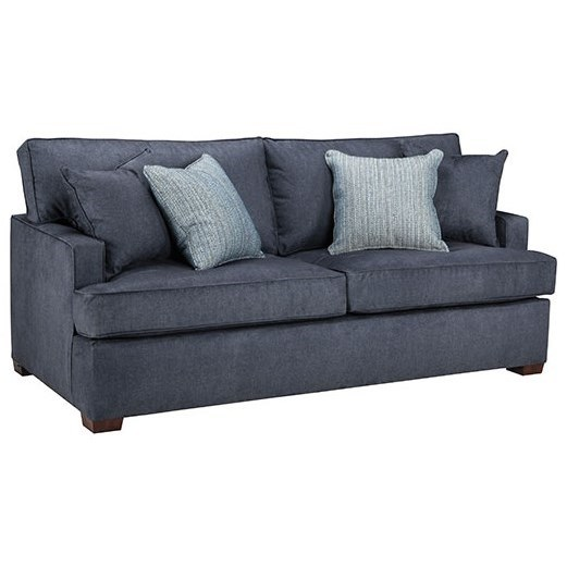 73 Frame Queen Sleeper Sofa by Overnight Sofa at Dream Home Interiors