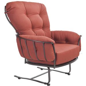 Spring Base Lounge Chair with Four Cushions