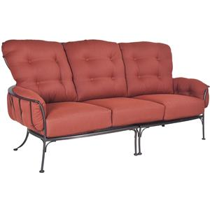 Sofa with Eight Cushions
