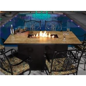 FIRE PIT/3PEBB/COVER/GLASS GD