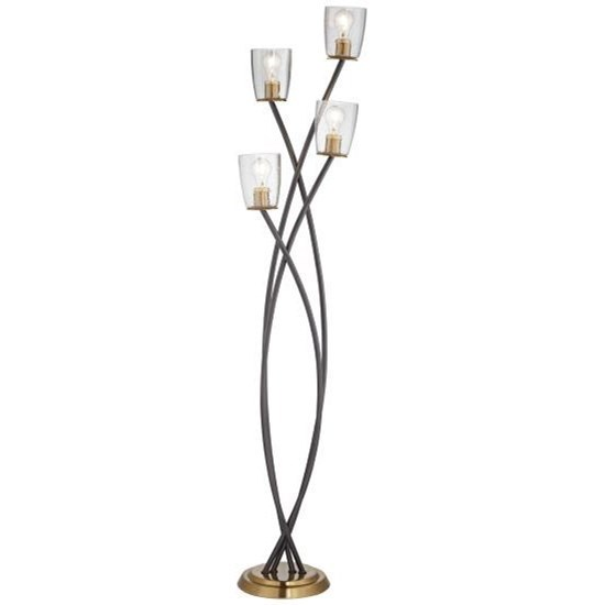 Floor Lamps Half Moon Floor Lamp at Bennett's Furniture and Mattresses