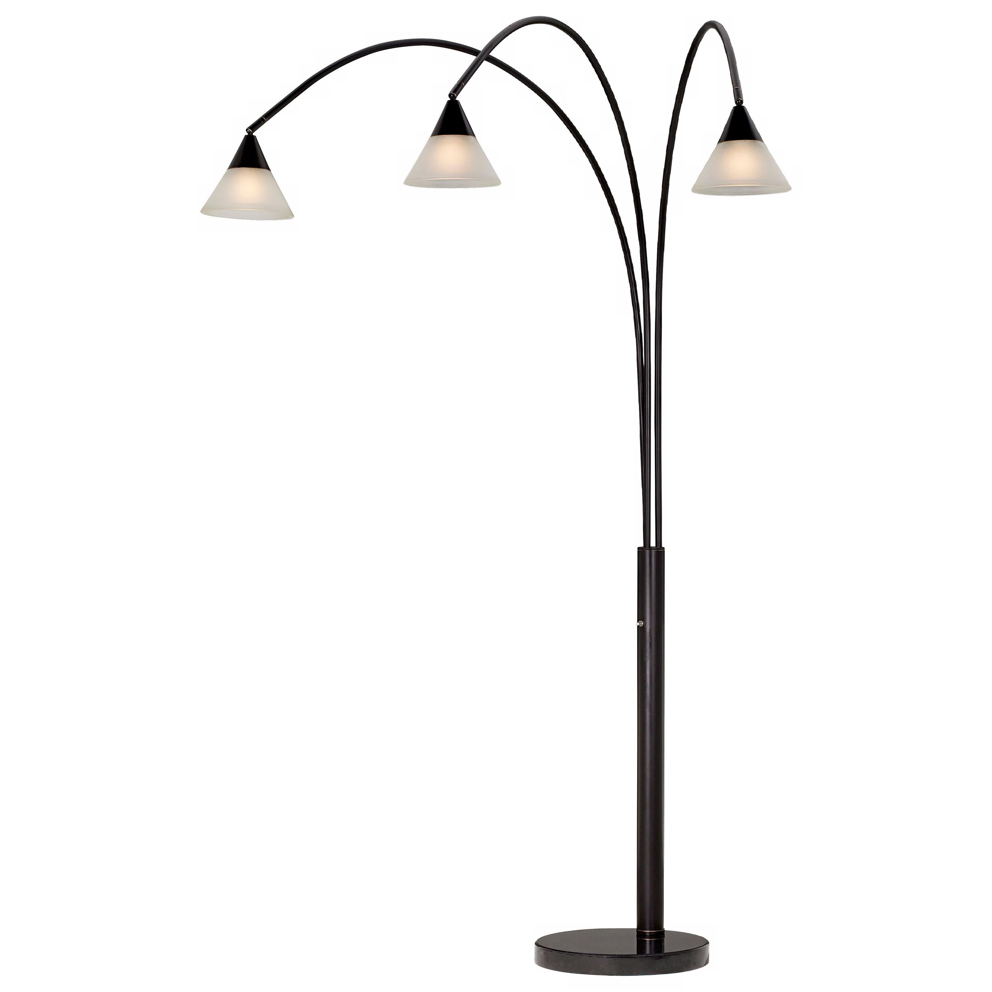 Floor Lamps Archway Lamp-Dark Bronze at Bennett's Furniture and Mattresses
