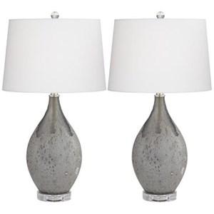 Volcanic Shimmer Lamp Set
