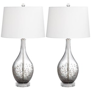 Two Sparrow Table Lamps