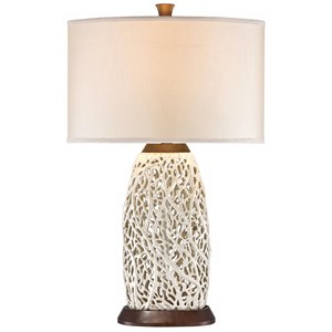 Seaspray Table Lamp - Wood