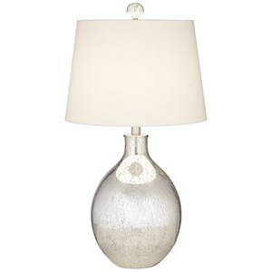 Mercury Oval Table Lamp