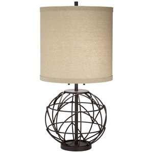 Alloy Globe Table Lamp
