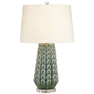 Siesta Key - Blue Table Lamp