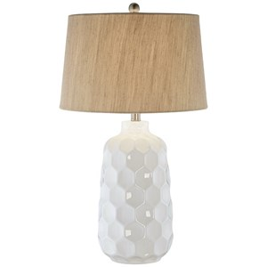 Kathy Ireland Honeycomb Dreams Table Lamp