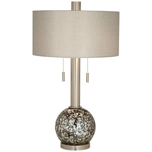 B. Steel Ant Mercury Table Lamp